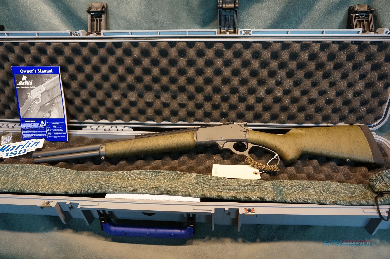 Marlin Custom Shop 1895SBL 45-70 Modern Lever Hunter Sniper Grey  Guns > Rifles > Marlin Rifles > Modern > Lever Action
