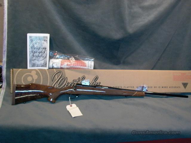 Weatherby Vanguard Deluxe Hand Select 270  Guns > Rifles > Weatherby Rifles > Sporting