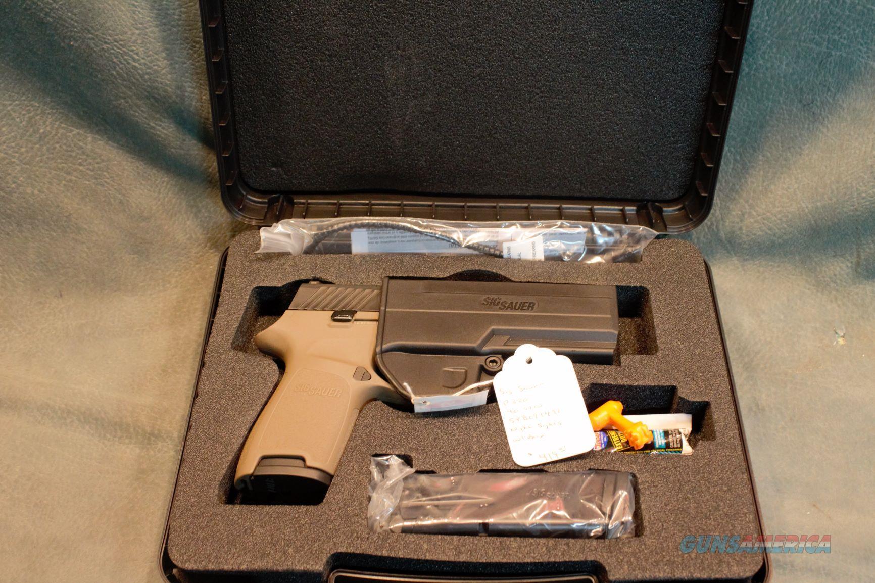 Sig Sauer P320 FDE 40 S&W  Guns > Pistols > Sig - Sauer/Sigarms Pistols > P320