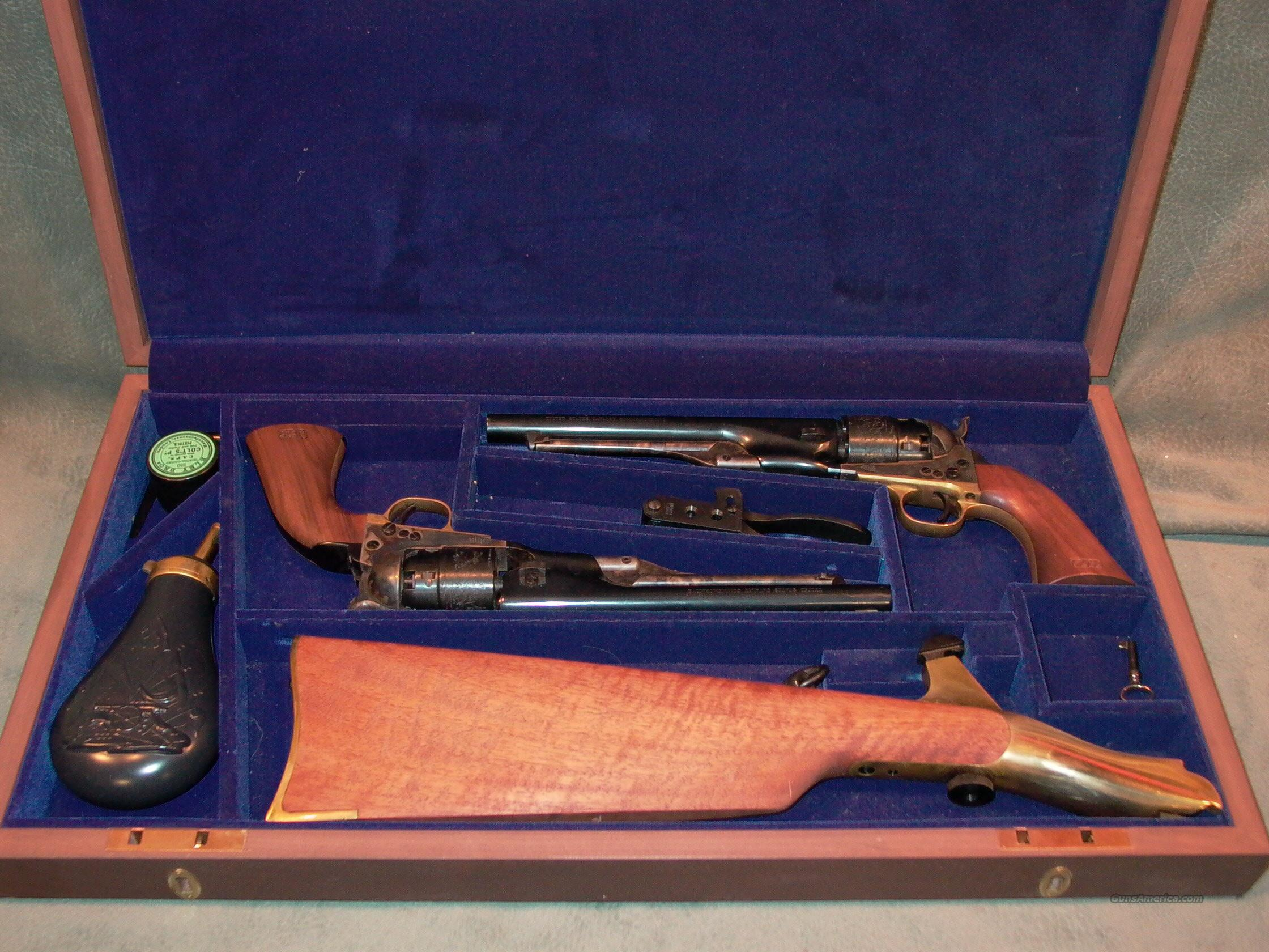 Colt US Cavalry Commemorative Set  Guns > Pistols > Colt Commemorative Pistols