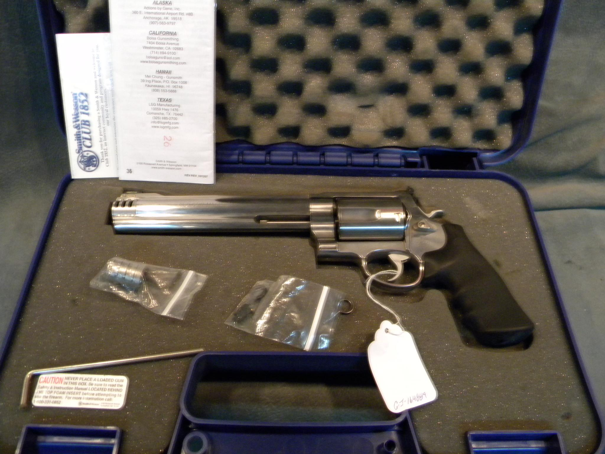 S+W Model 460 460S+W   Guns > Pistols > Smith & Wesson Revolvers > Full Frame Revolver