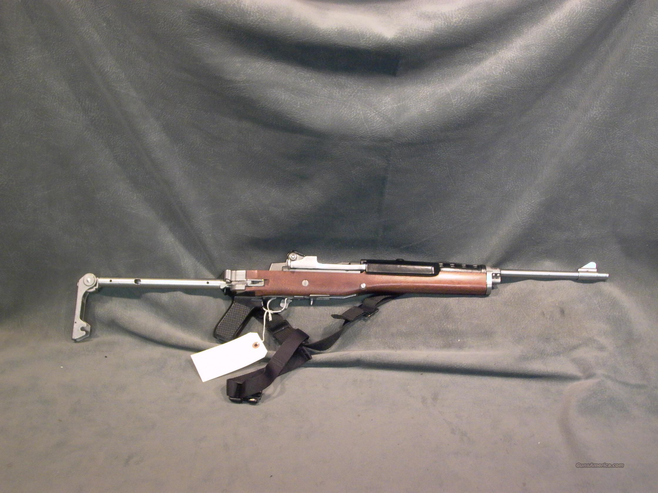 Ruger Mini 14 factory folder 223 stainless  Guns > Rifles > Ruger Rifles > Mini-14 Type