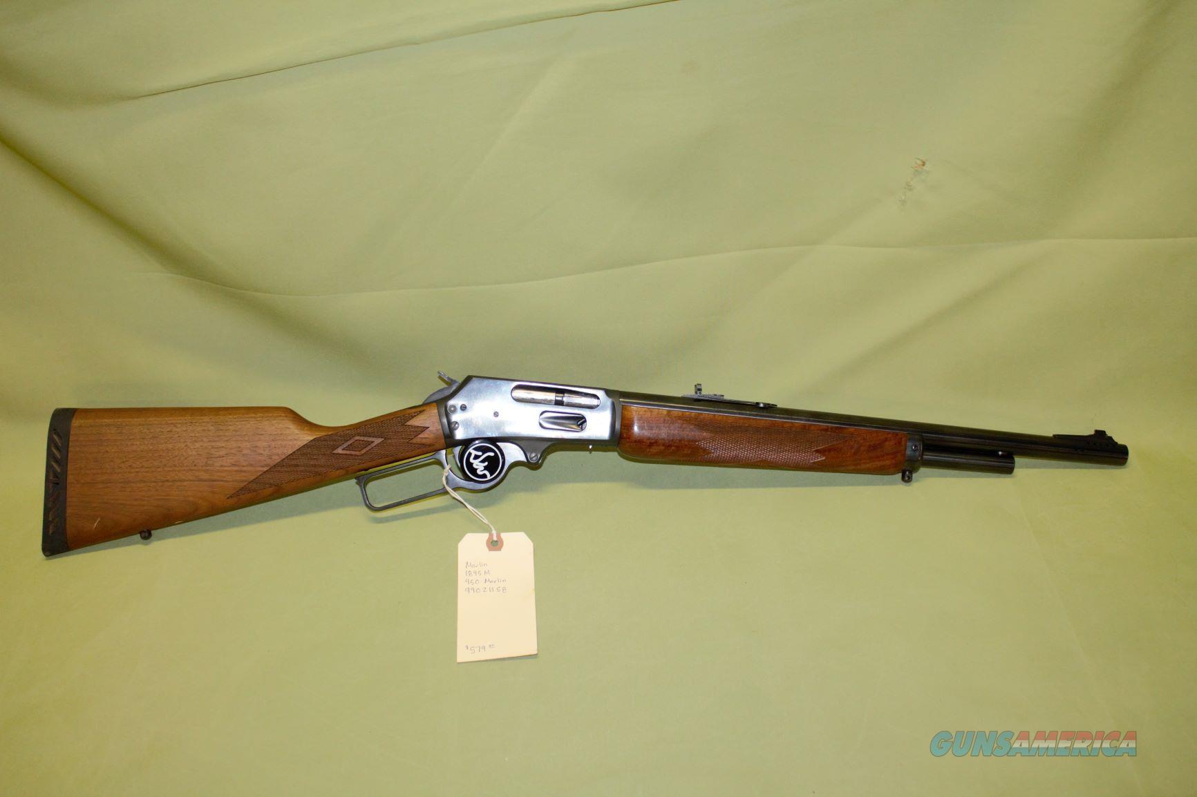 Marlin 1895M 450 Marlin  Guns > Rifles > Marlin Rifles > Modern > Lever Action