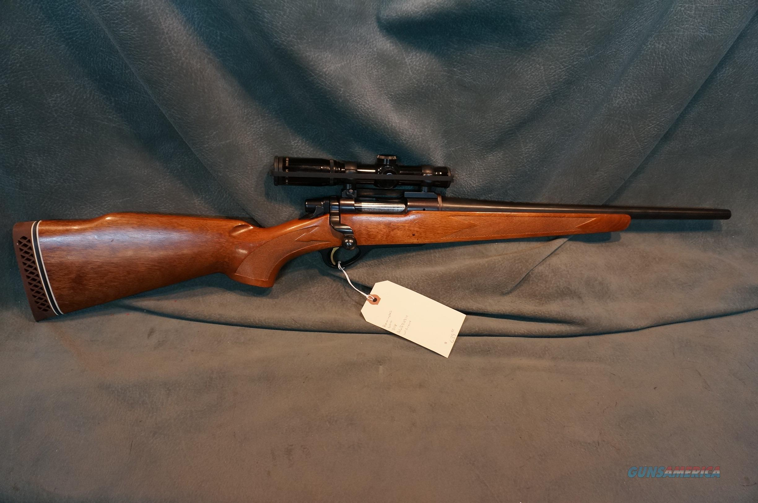 Remington Mohawk 600 308 w/Burris scope   Guns > Rifles > Remington Rifles - Modern > Bolt Action Non-Model 700 > Sporting