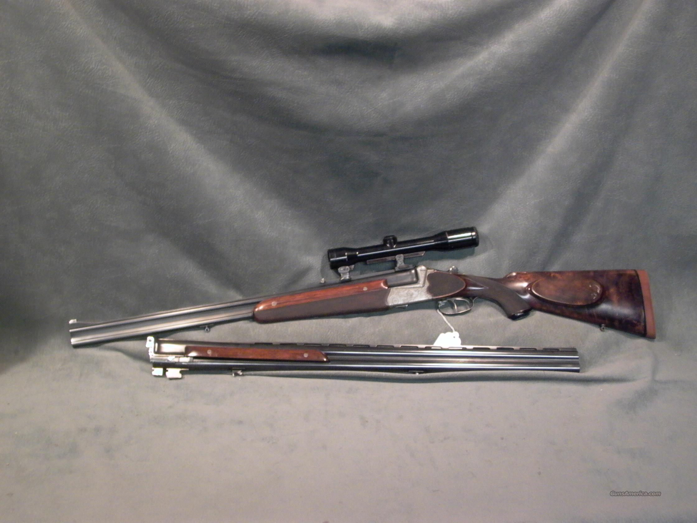 Peter Marholt over/under 2bbls rifle/shotgun  Guns > Rifles > Double Rifles (Misc.)