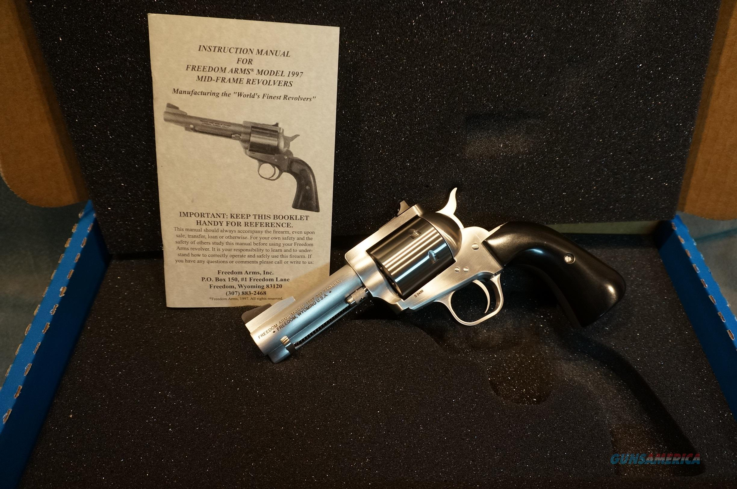 "Freedom Arms 1997 Premier Grade 327 Federal 3 1/2"" NIB  Guns > Pistols > Freedom Arms Pistols"
