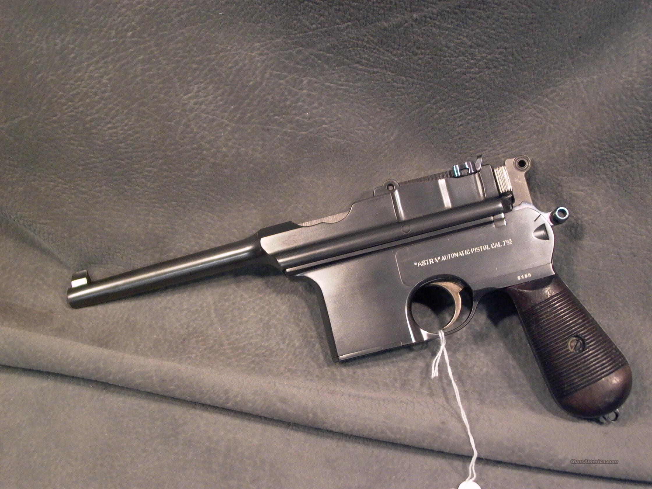 Astra 900 Broomhandle Early Model minty  Guns > Pistols > Mauser Pistols