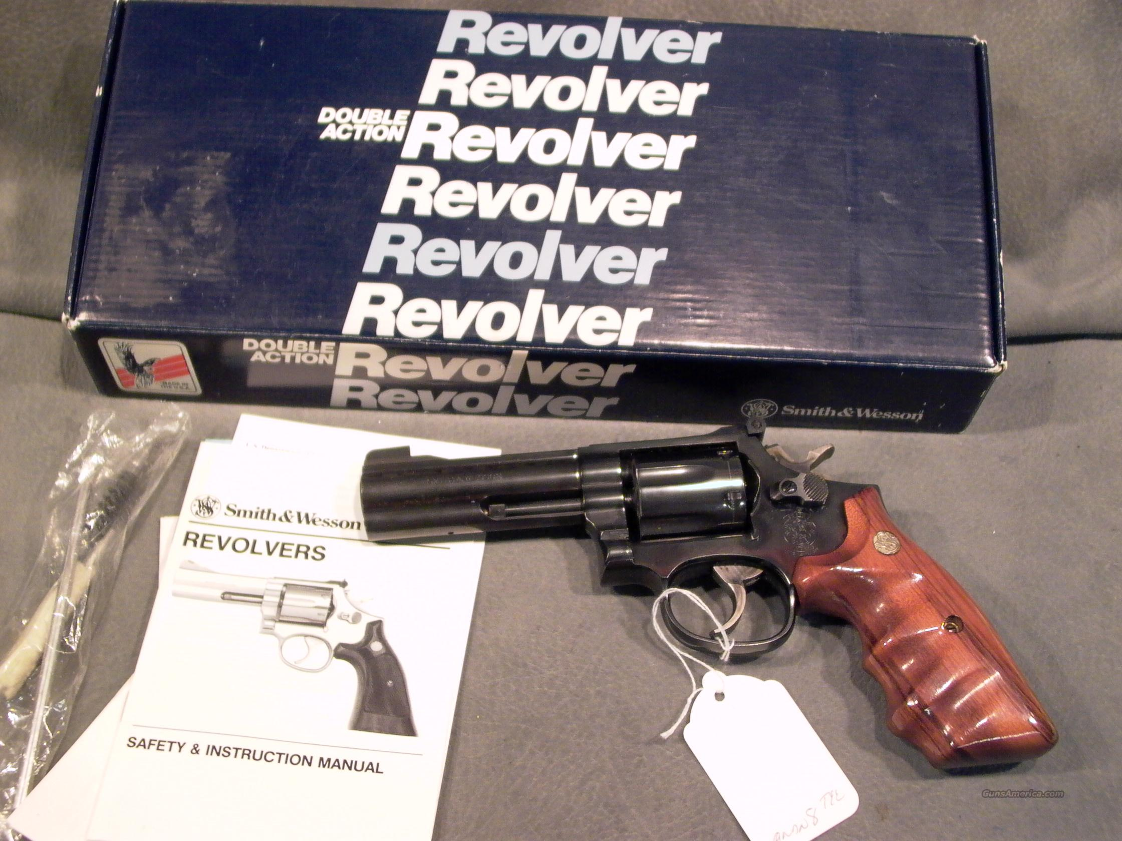 "S+W M16-4 32Mag 4""  Guns > Pistols > Smith & Wesson Revolvers > Full Frame Revolver"