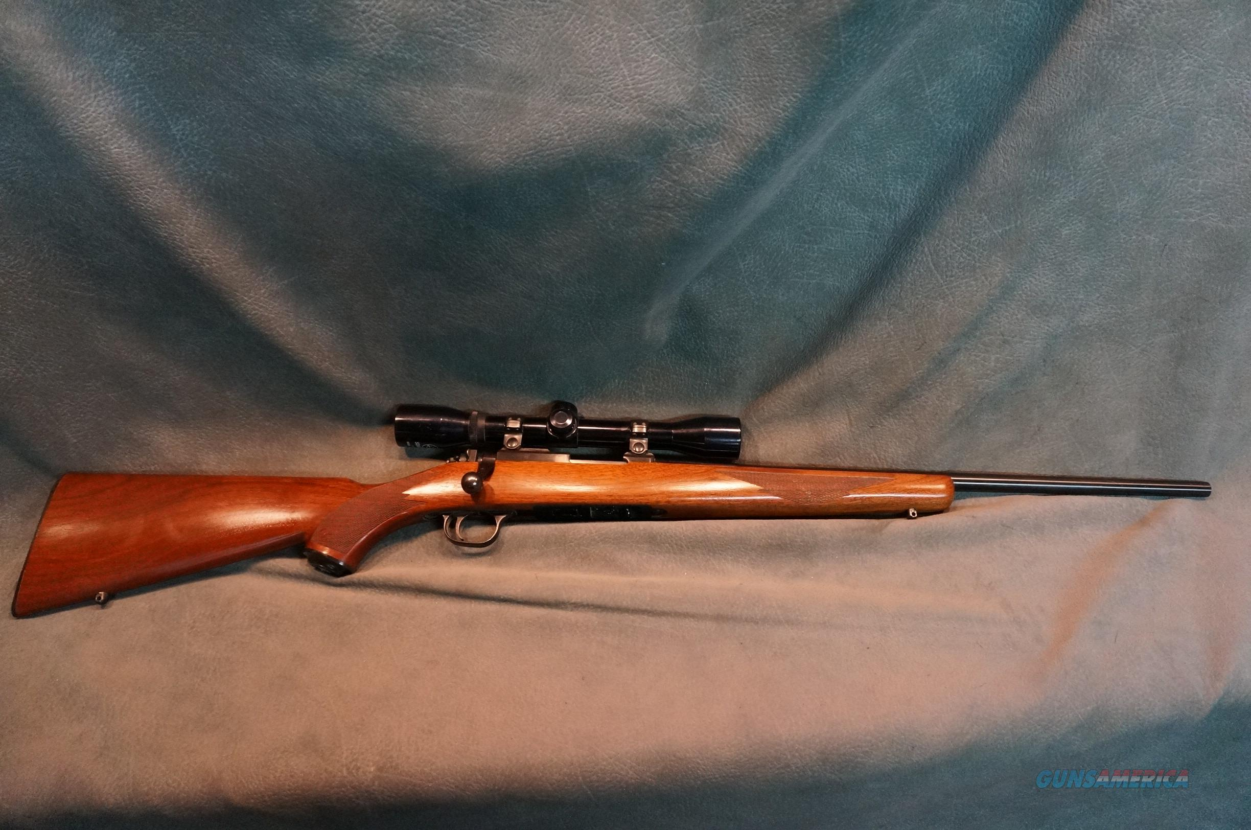 Ruger 77/22 22LR w/scope  Guns > Rifles > Ruger Rifles > Model 77
