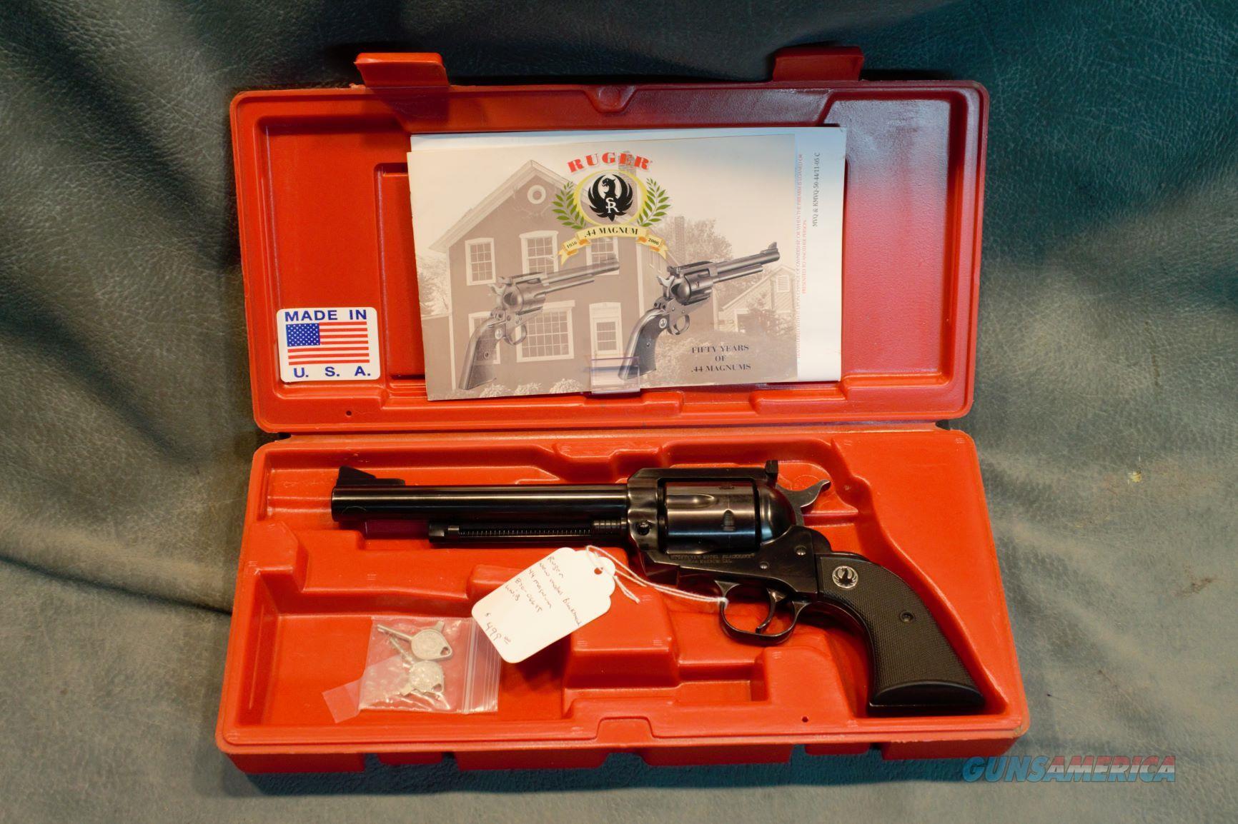 Ruger New Model Blackhawk 44 Magnum  Guns > Pistols > Ruger Single Action Revolvers > Blackhawk Type