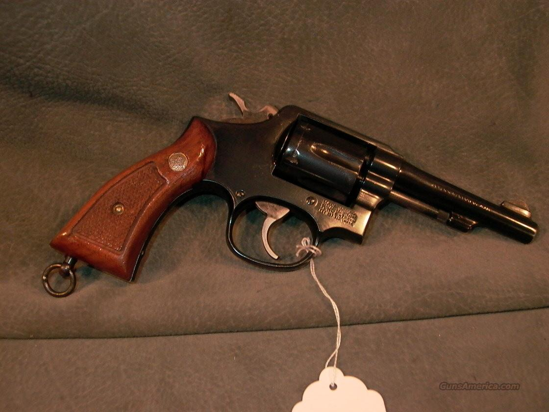 "S+W M10-9 38Sp 4"" Hong Kong Police  Guns > Pistols > Smith & Wesson Revolvers > Model 10"
