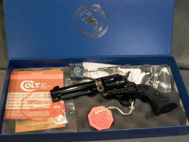 "Colt SAA 44Sp 4 3/4"" barrel  Guns > Pistols > Colt Single Action Revolvers - 3rd Gen."