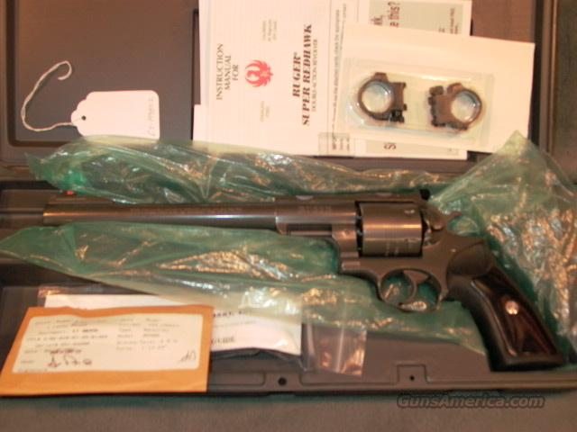 Ruger Super Redhawk 454Casull   Guns > Pistols > Ruger Double Action Revolver > Redhawk Type