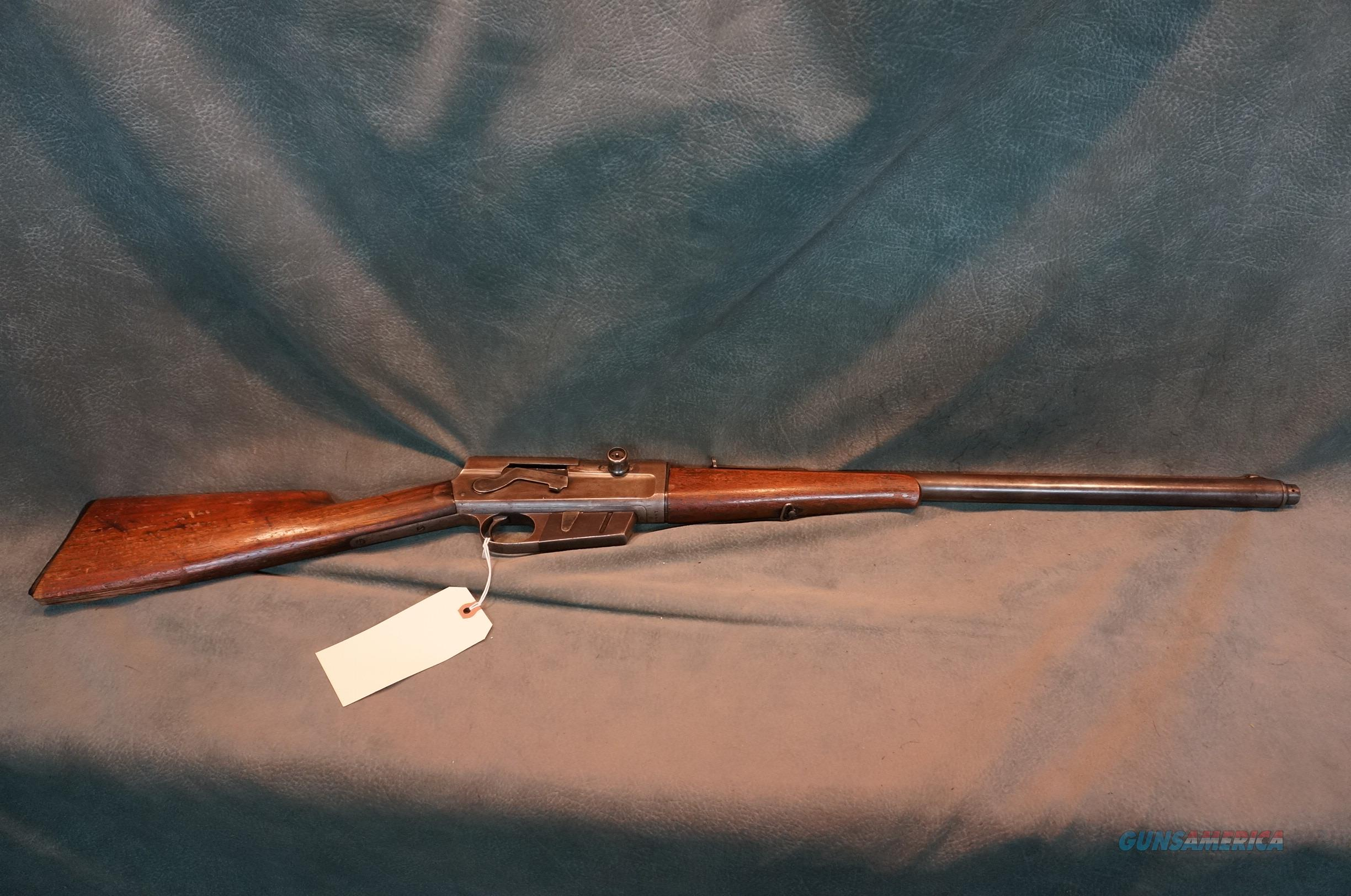 Remington Model 8 25-35,serial #14484,made in 1909.  Guns > Rifles > Remington Rifles - Modern > Other