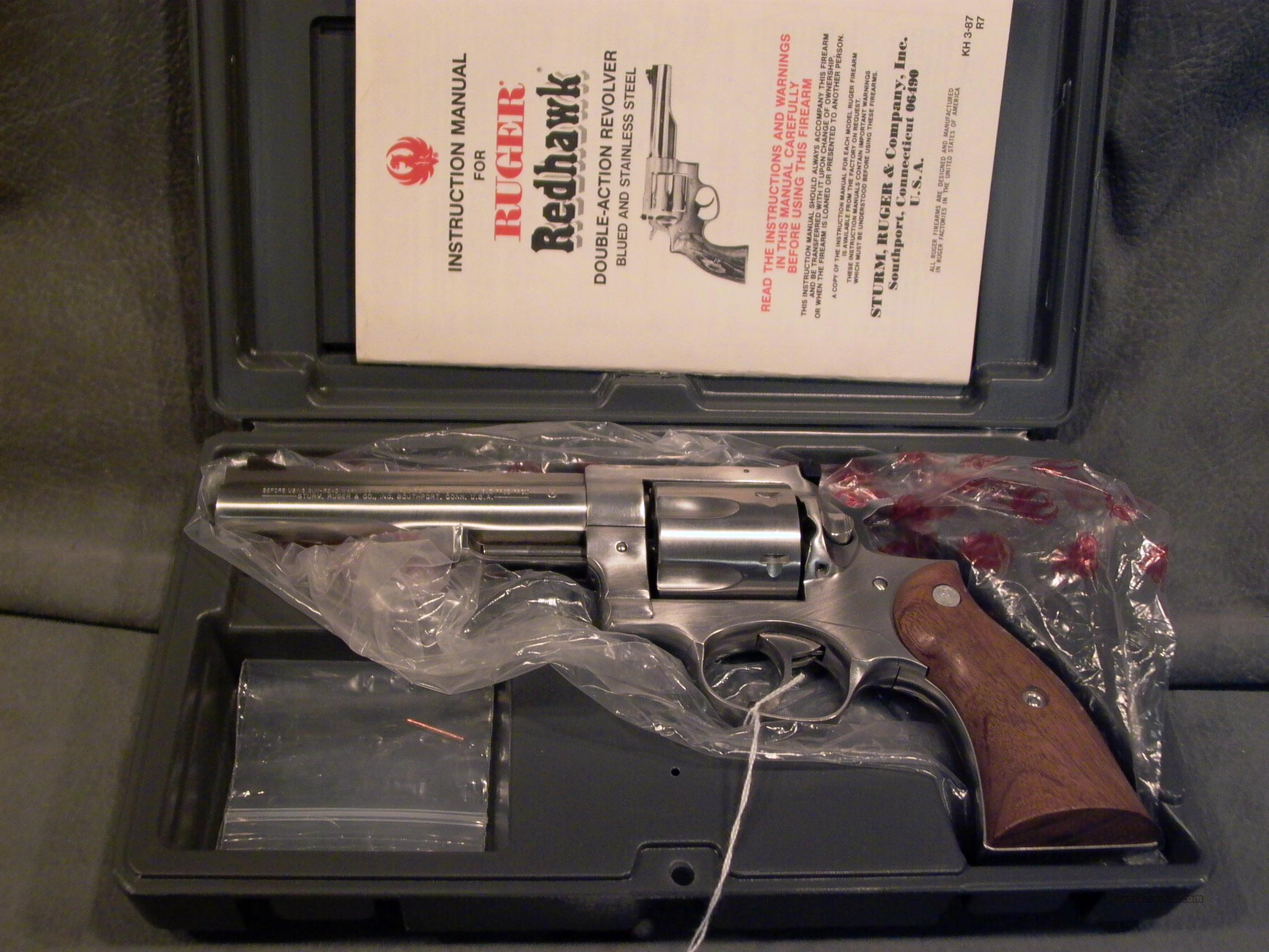 "Ruger Redhawk 45LC 5 1/2""  Guns > Pistols > Ruger Double Action Revolver > Redhawk Type"