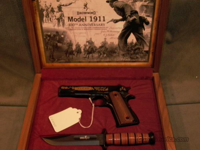 Browning 1911-22 100th Anniversary Set  Guns > Pistols > Browning Pistols > Other Autos