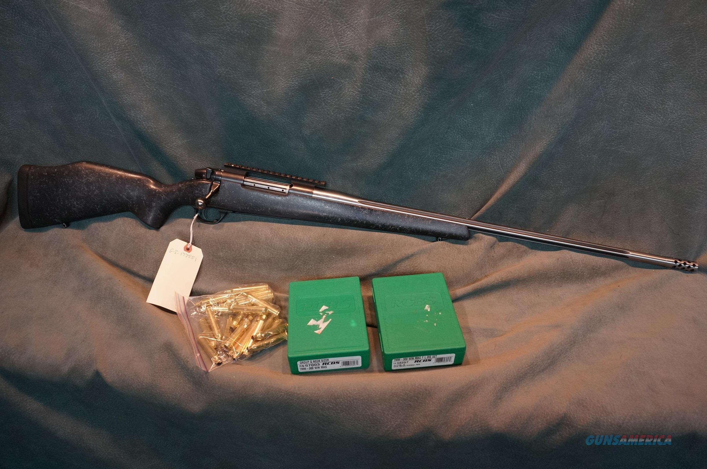 Weatherby Mark V Accumark 7mm/300WinMag with dies and brass  Guns > Rifles > Custom Rifles > Bolt Action
