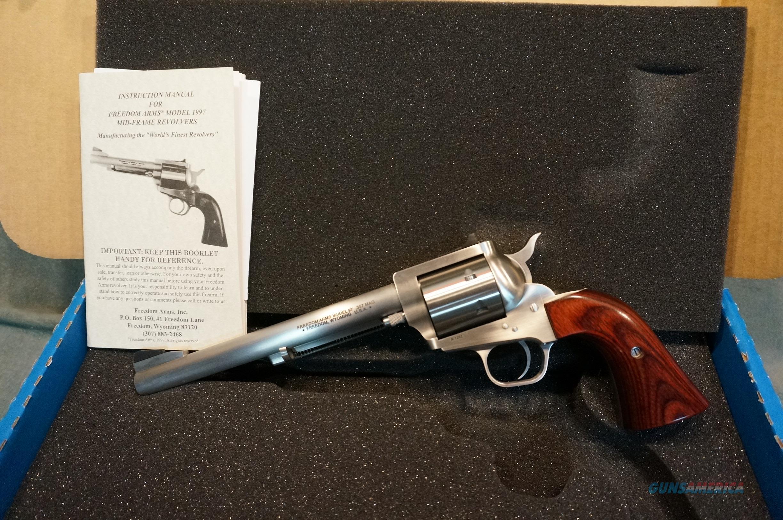 "Freedom Arms 1997 Premier Grade 357Mag 7 1/2"" NIB  Guns > Pistols > Freedom Arms Pistols"