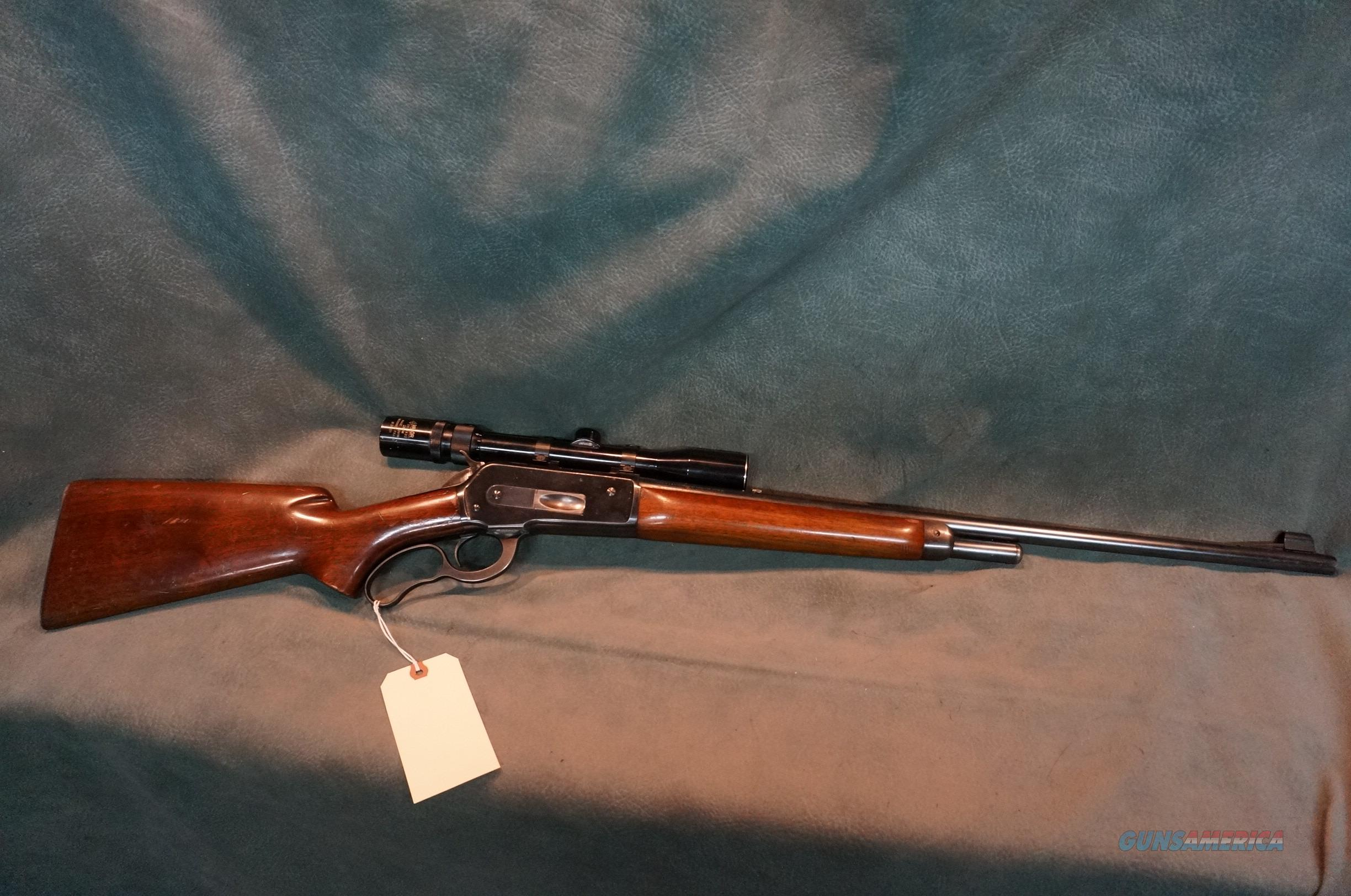 Winchester Model 71 348Win long tang  Guns > Rifles > Winchester Rifles - Modern Lever > Other Lever > Pre-64
