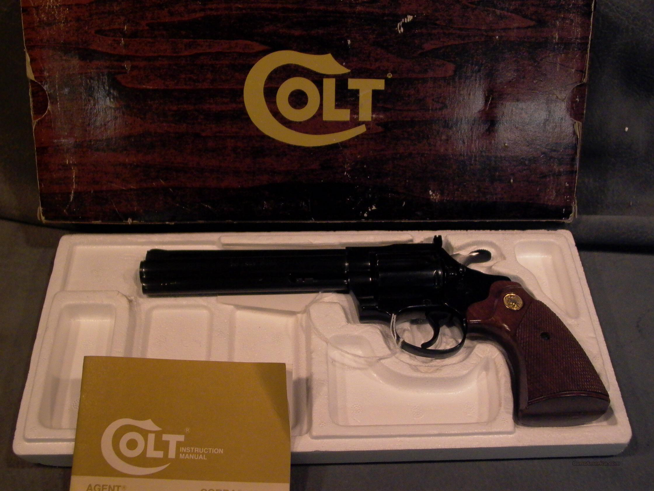 "Colt Diamondback 22LR 6""  Guns > Pistols > Colt Double Action Revolvers- Modern"