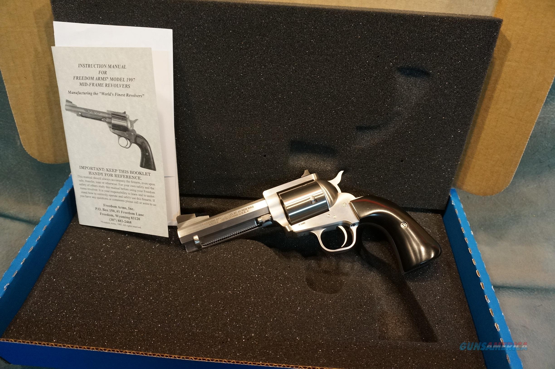"Freedom Arms Model 97 41Mag 4.25"" Octagon bbl NIB  Guns > Pistols > Freedom Arms Pistols"