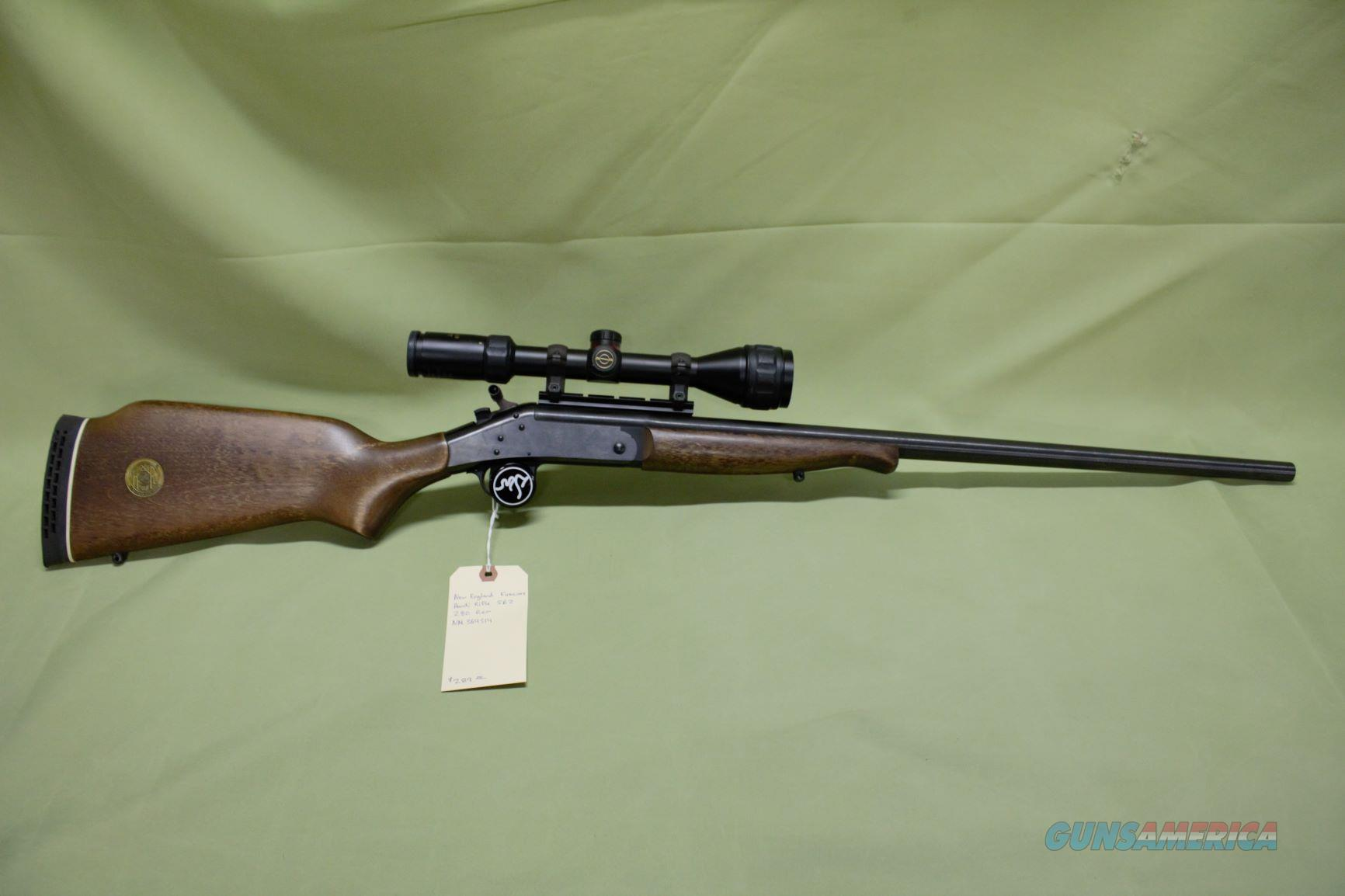 New England Firearms Limited Edition 280 Rem  Guns > Rifles > New England Firearms (NEF) Rifles
