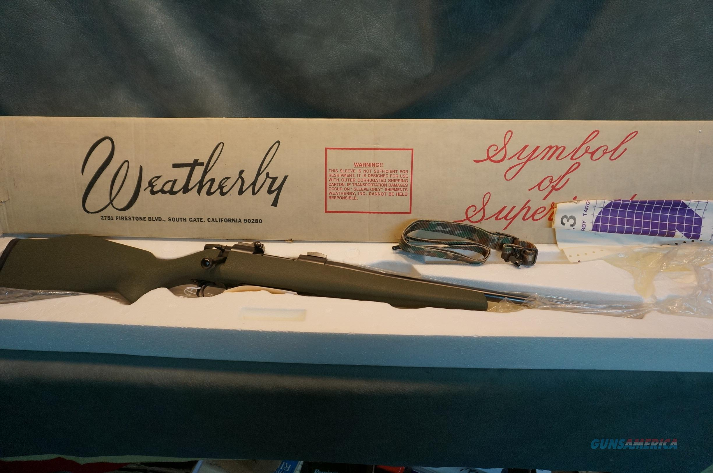 Weatherby Vanguard VGL 243Win  Guns > Rifles > Weatherby Rifles > Sporting