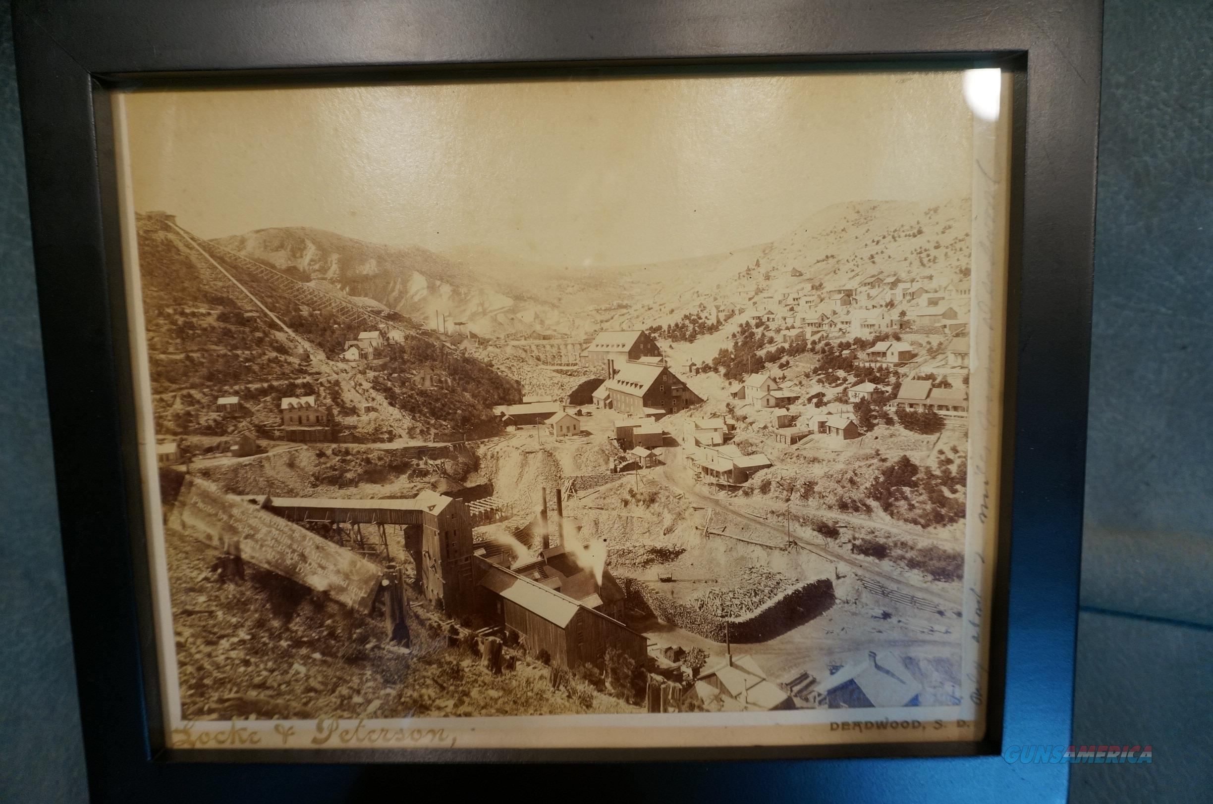 Early Deadwood SD Mining photo  Non-Guns > Miscellaneous
