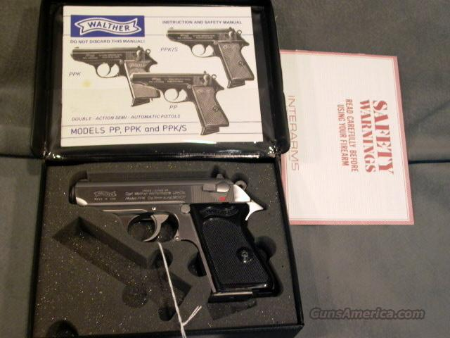 Walther Interarms PPK 380ACP  Guns > Pistols > Walther Pistols > Post WWII > PPK Series