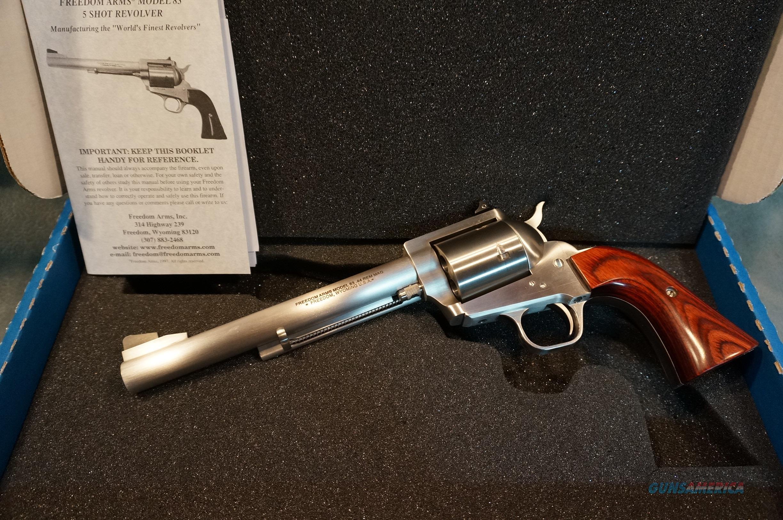 Freedom Arms Model 83 Premier Grade 44Mag LNIB  Guns > Pistols > Freedom Arms Pistols