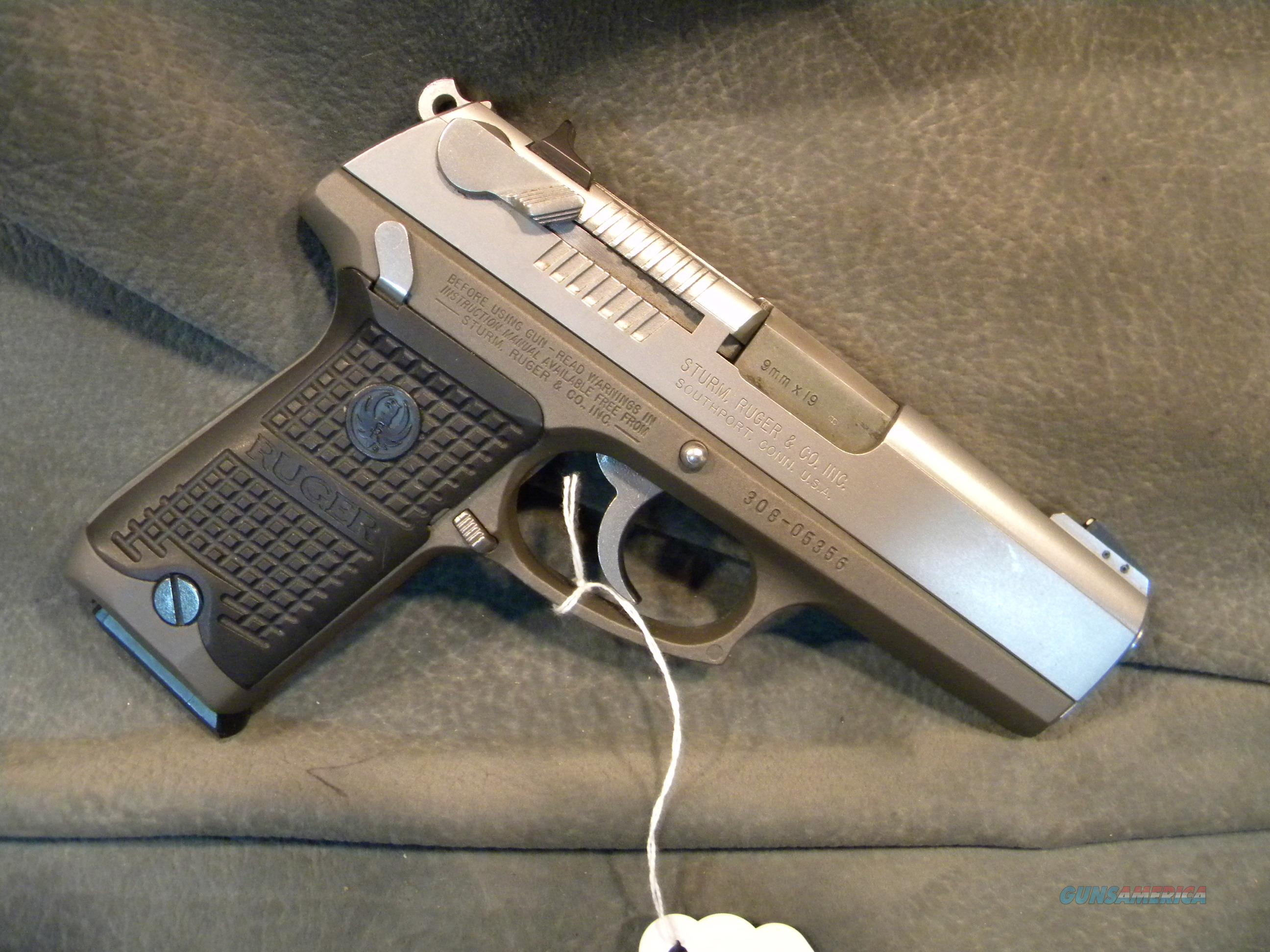 Ruger KP94 9mm Stainless  Guns > Pistols > Ruger Semi-Auto Pistols > P-Series