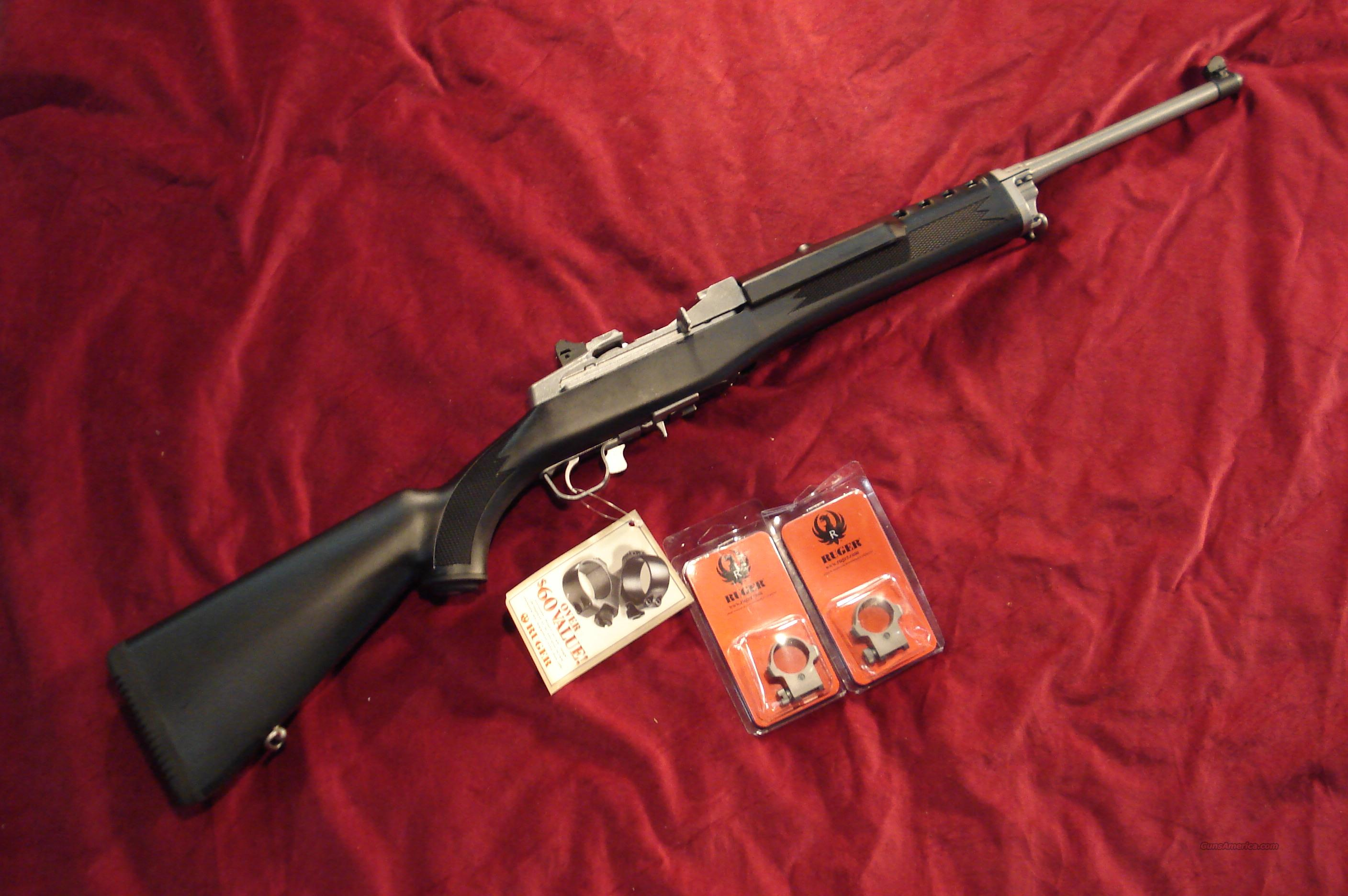 RUGER ALL WEATHER MINI 14 STAINLESS RANCH 5 ROUND NEW  Guns > Rifles > Ruger Rifles > Mini-14 Type