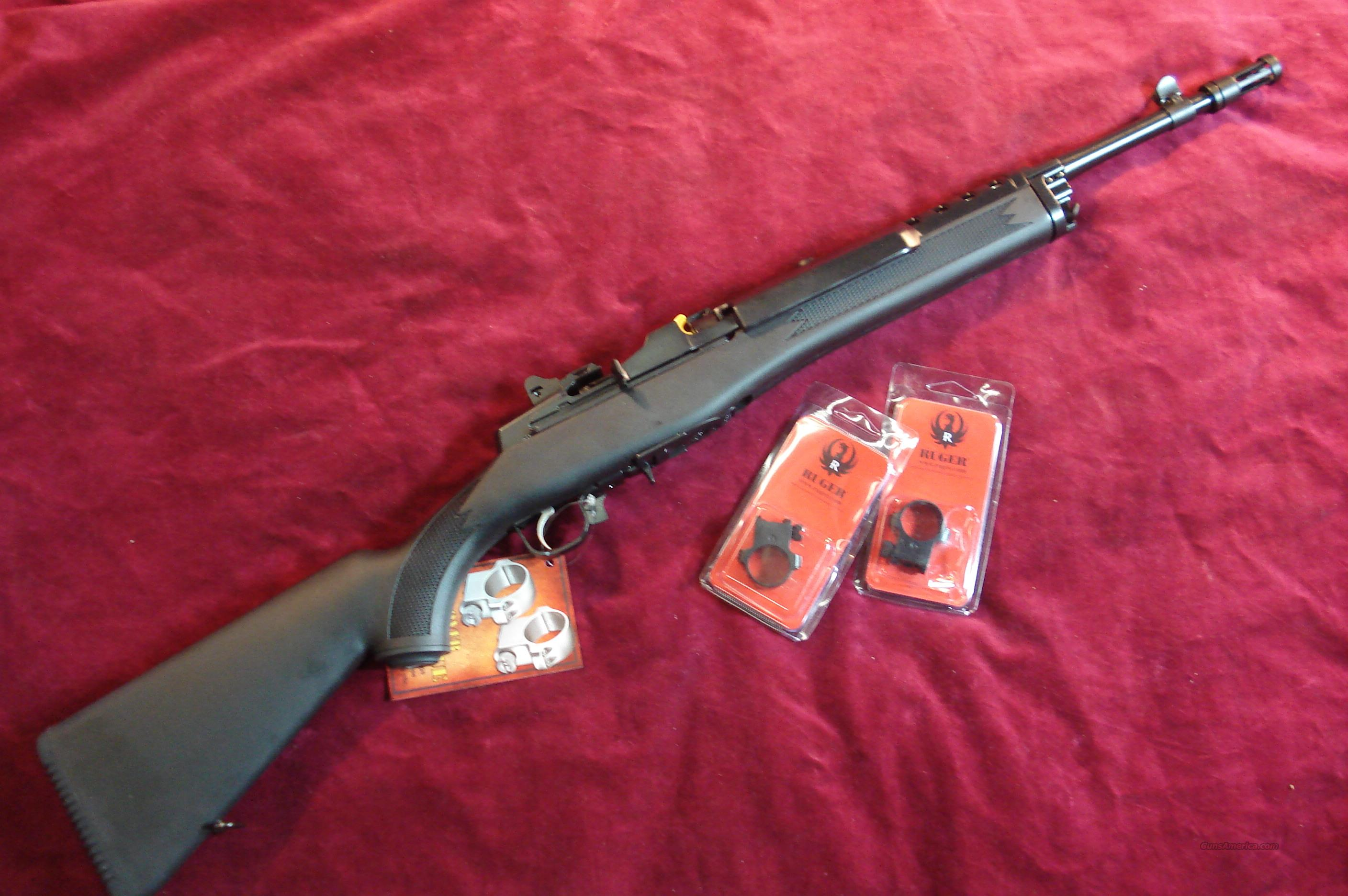 RUGER MINI 14 TACTICAL RIFLE 223 CAL. NEW (M-14/5GBCPC)   (05848)  Guns > Rifles > Ruger Rifles > Mini-14 Type