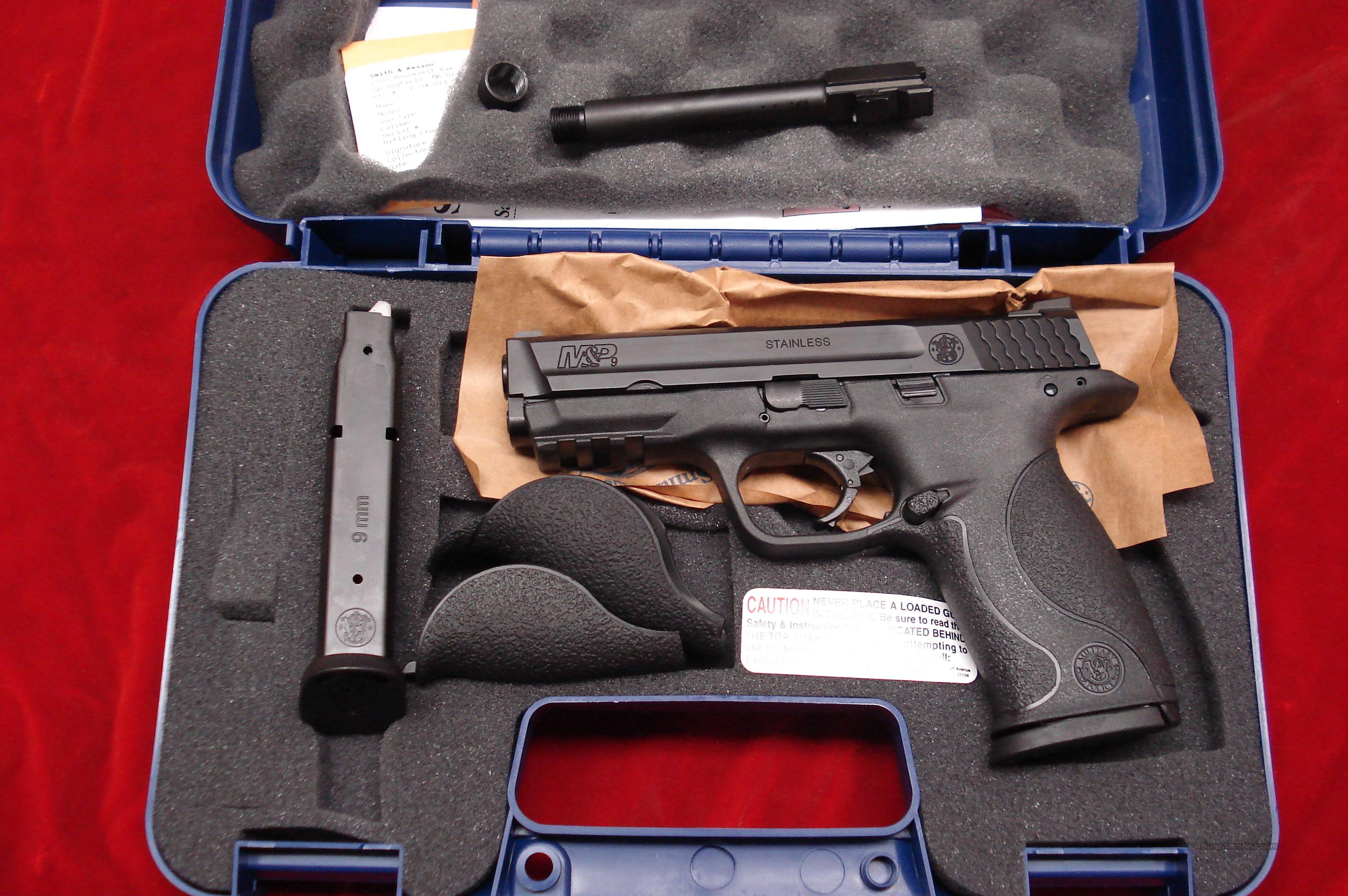 SMITH AND WESSON M&P 9MM ADDITIONAL TREADED BARREL KIT HIGH CAPACITY NEW  Guns > Pistols > Smith & Wesson Pistols - Autos > Polymer Frame