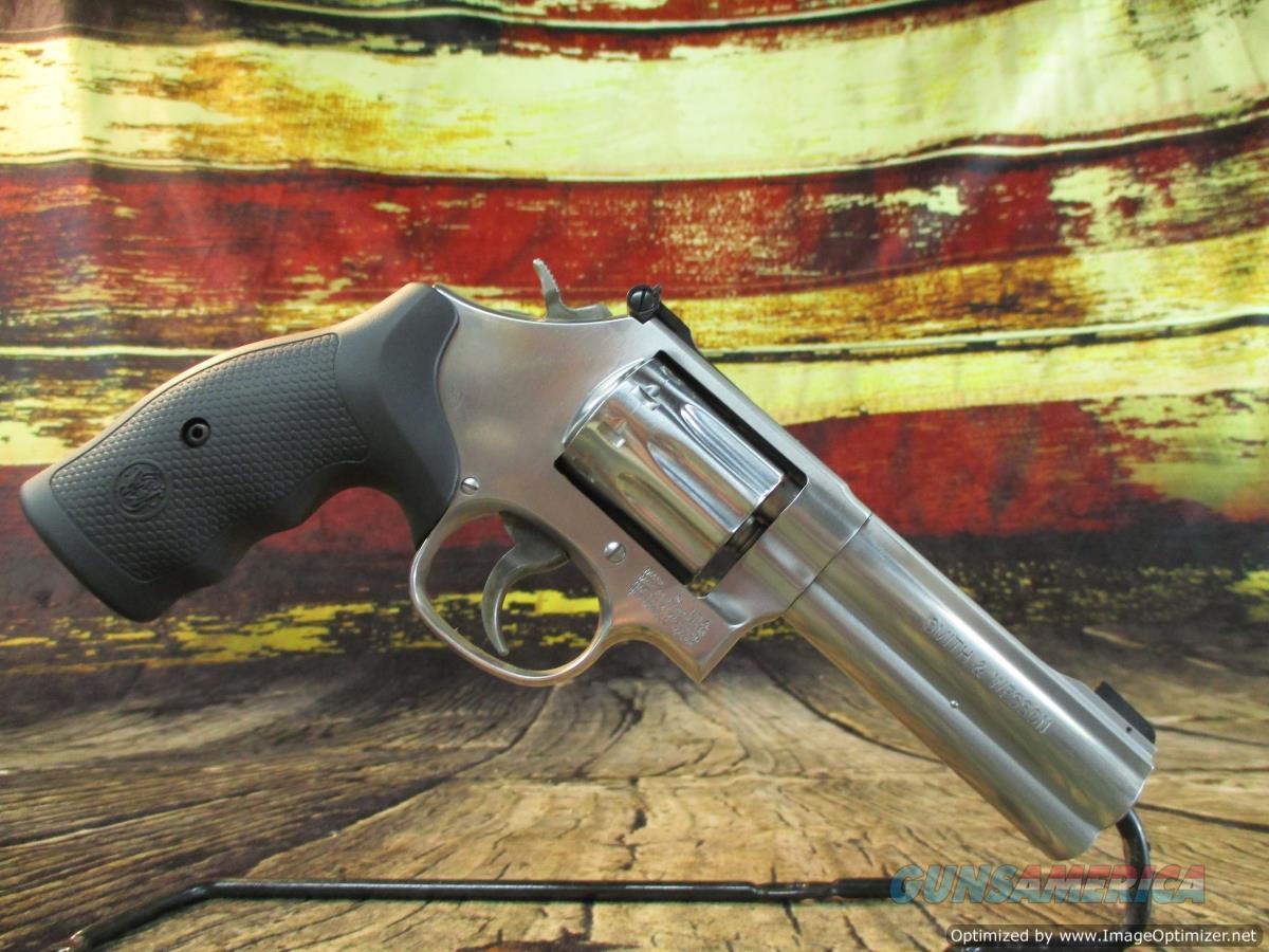 "Smith & Wesson 22 LR  Model 617 4"" Stainless 10 Shot 160584  Guns > Pistols > Smith & Wesson Revolvers > Med. Frame ( K/L )"