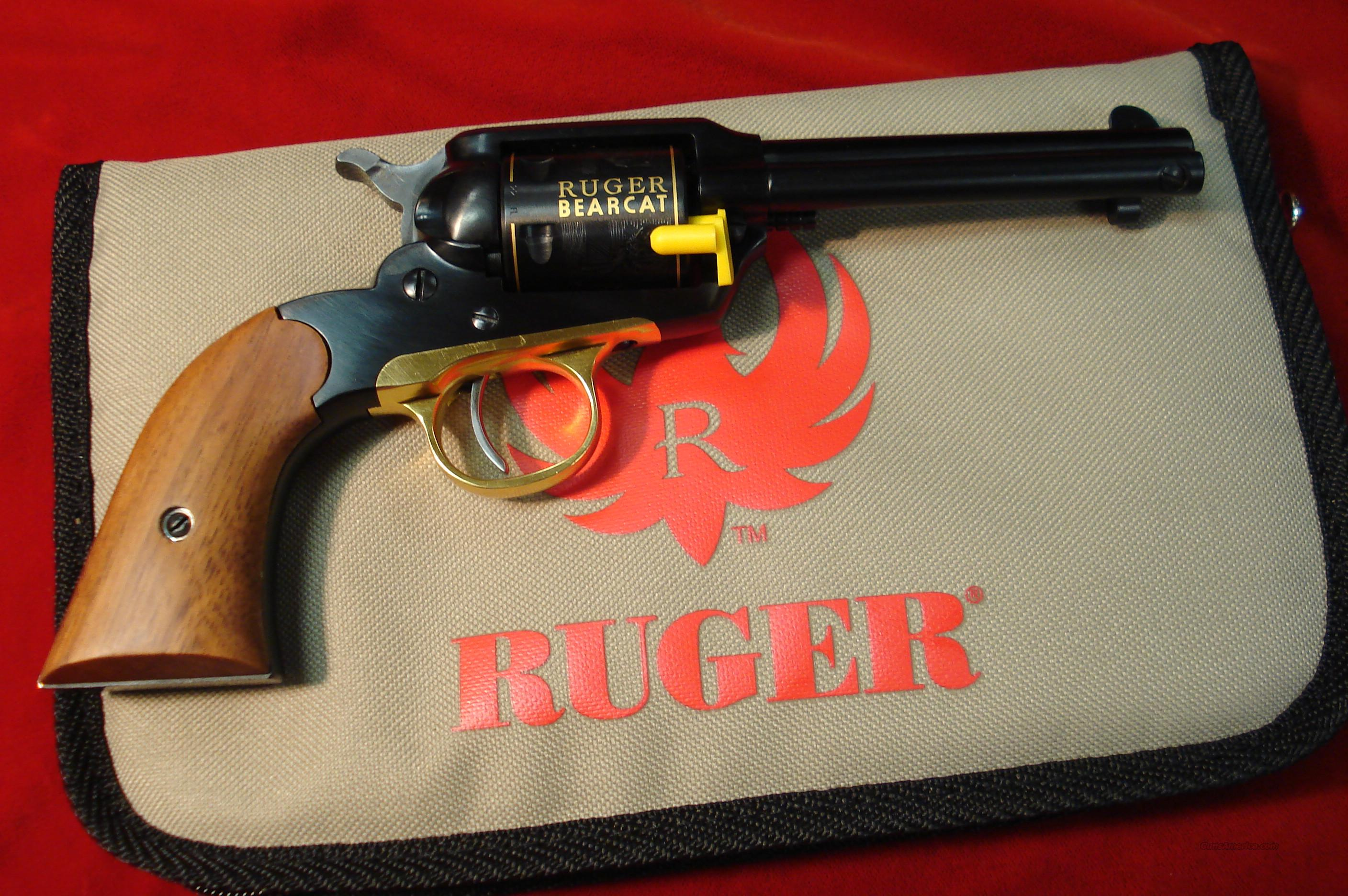 RUGER 50TH ANNIV. BEARCAT  22CAL. REVOLVER NEW  Guns > Pistols > Ruger Single Action Revolvers > Single Six Type