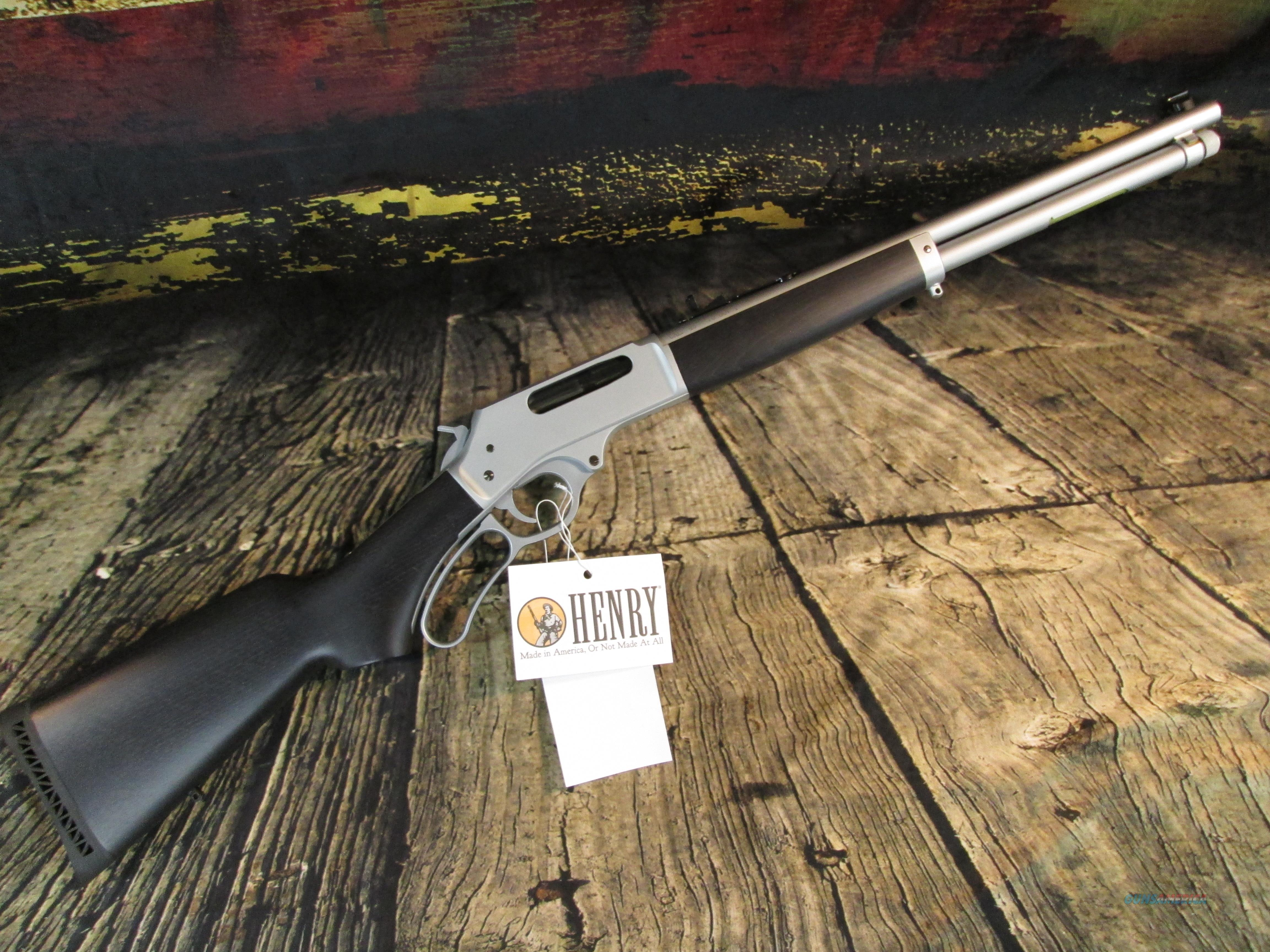 """Henry 45-70 GovT. All Weather Lever 18"""" New (H010AW)  Guns > Rifles > Henry Rifle Company"""