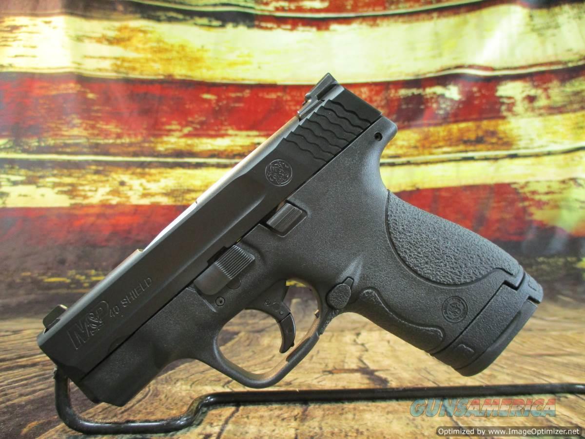 "Smith & Wesson 40 S&W Black M&P Shield 3.1"" New (10214)  Guns > Pistols > Smith & Wesson Pistols - Autos > Shield"