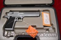 "MAGNUM RESEARCH DESERT EAGLE 50AE 6"" MATTE CHROME NEW   Desert Eagle/IMI Pistols > Desert Eagle"