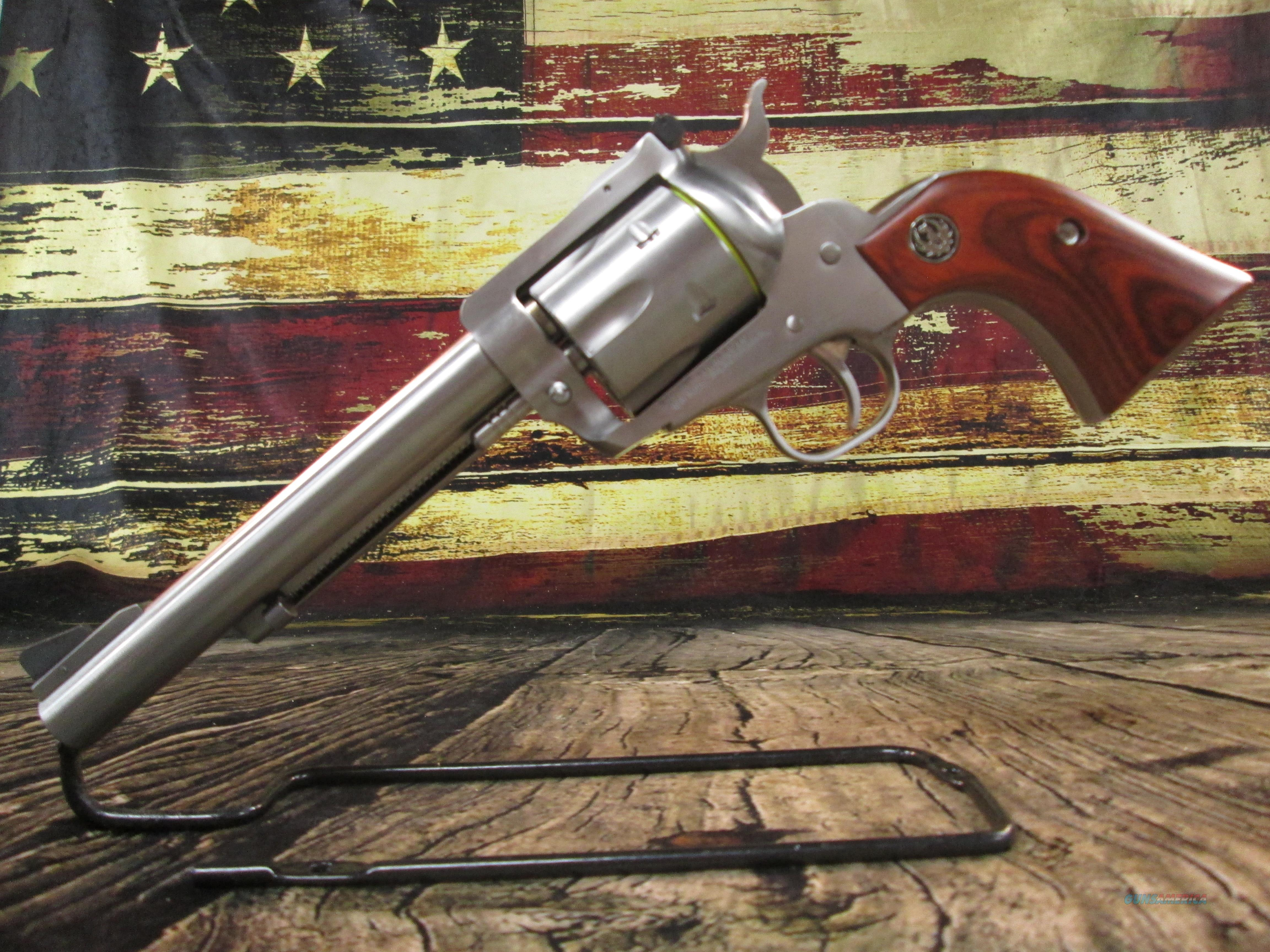"""RUGER BLACKHAWK CONVERTIBLE 10MM/ 40S&W Stainless 6.5"""" New (00474)  Guns > Pistols > Ruger Single Action Revolvers > Blackhawk Type"""