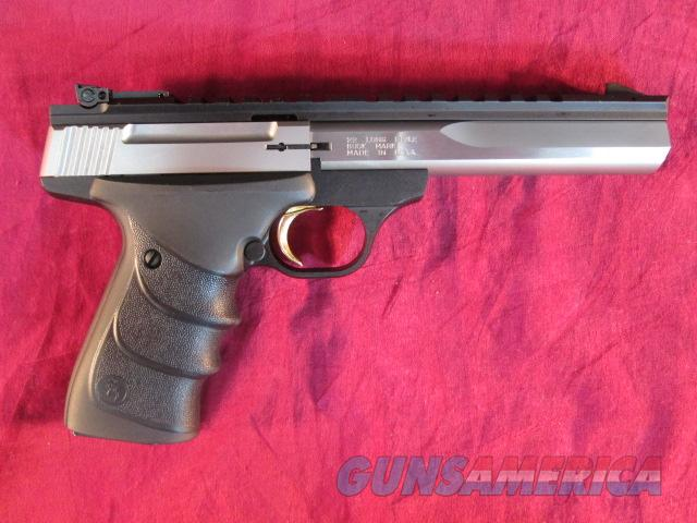 "BROWNING BUCKMARK CONTOUR URX STAINLESS 5.5"" NEW (051507490)  Guns > Pistols > Browning Pistols > Buckmark"