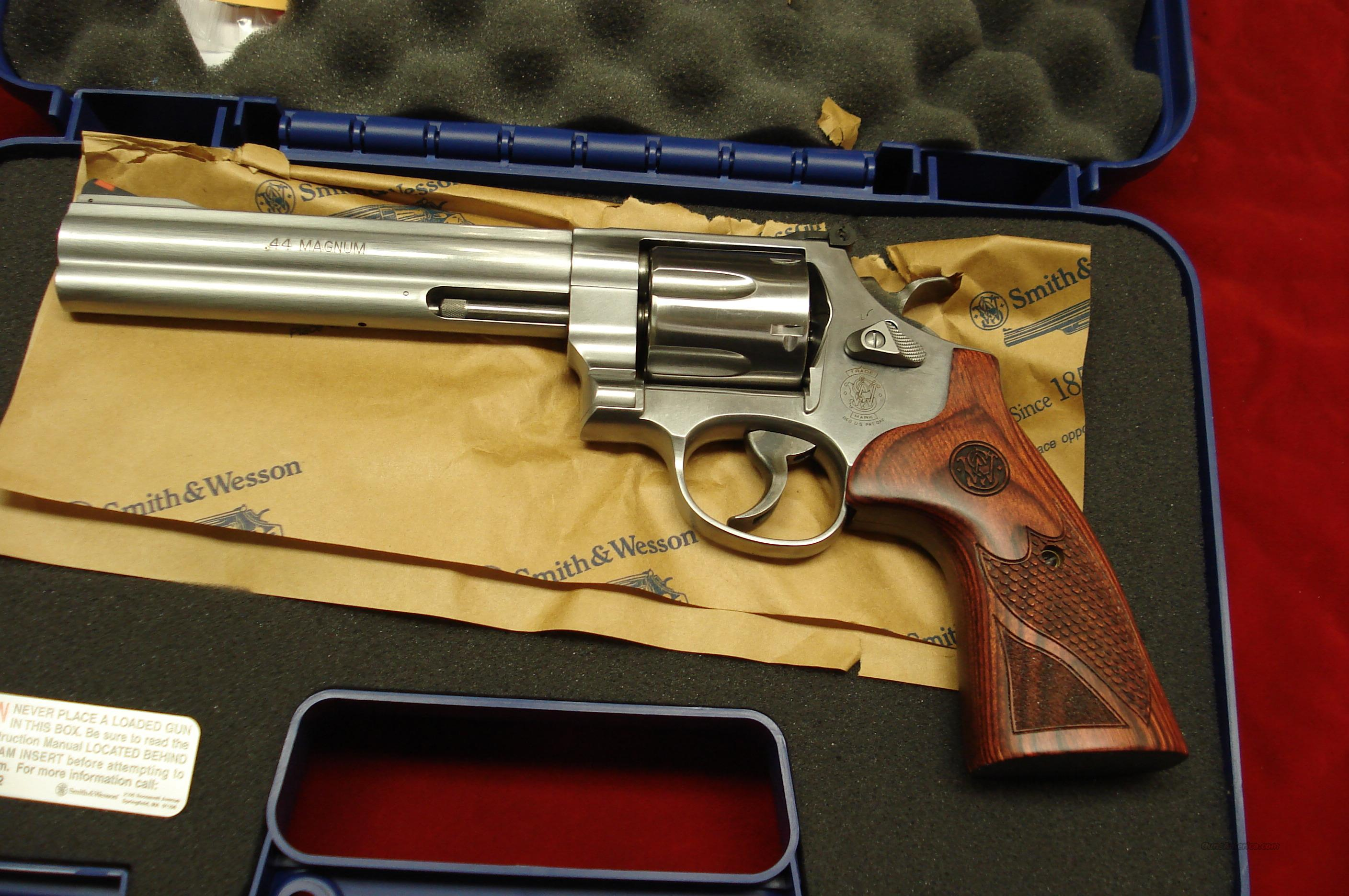 "SMITH AND WESSON MODEL 629 DELUXE 6.5"" 44MAG. NEW  (150714)  Guns > Pistols > Smith & Wesson Revolvers > Model 629"