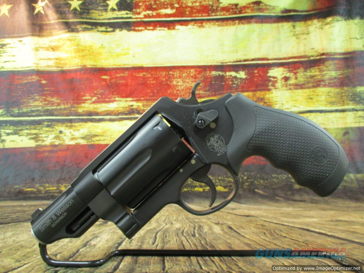 "S&W Governor 45 Colt, 45 acp, 410g 2.75"" barrel Used (67610)  Guns > Pistols > Smith & Wesson Revolvers > Med. Frame ( K/L )"