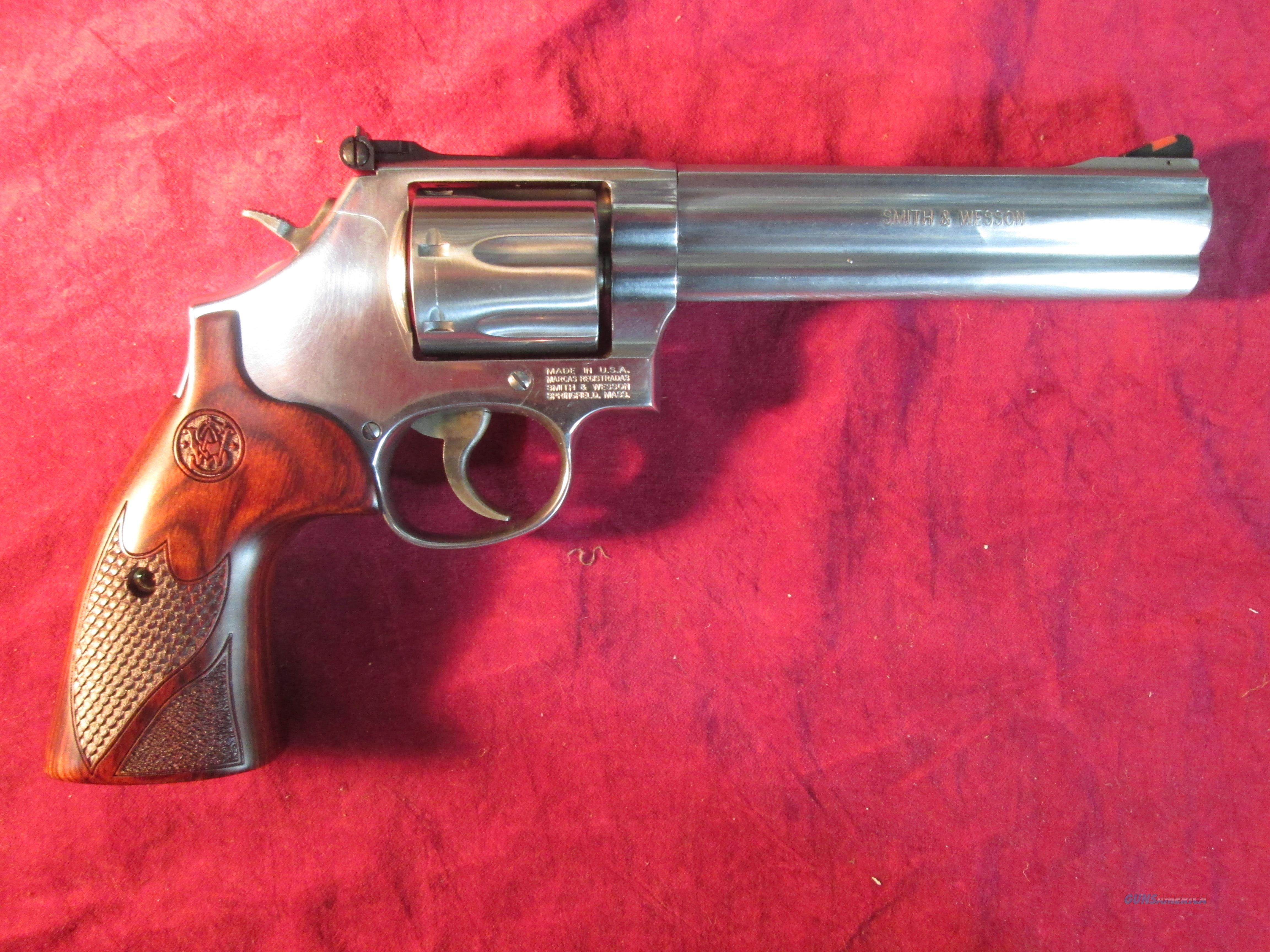 "SMITH AND WESSON MODEL 686 DELUXE 6"" 357MAG STAINLESS NEW (150712)  Guns > Pistols > Smith & Wesson Revolvers > Full Frame Revolver"