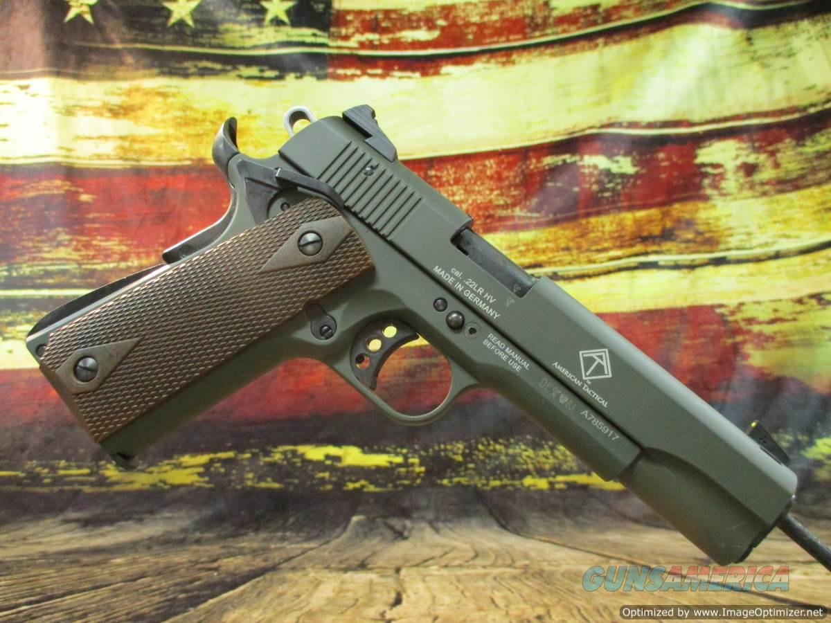 GSG 1911-22 Green 22lr NEW (2210M1911G)  Guns > Pistols > 1911 Pistol Copies (non-Colt)