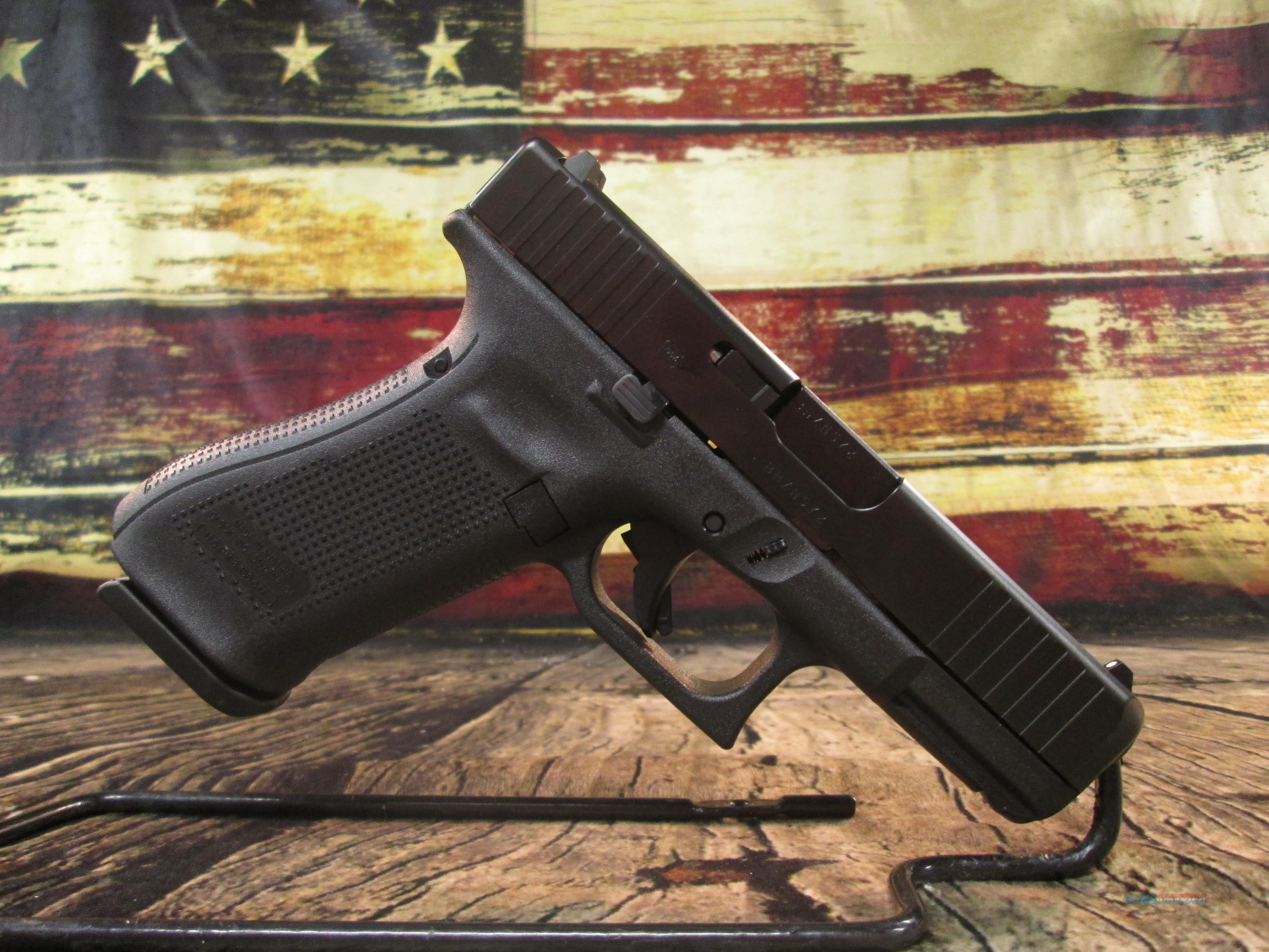 Glock Model 45 Gen 5 .9mm New (PA455S203)   Guns > Pistols > Glock Pistols > 19/19X