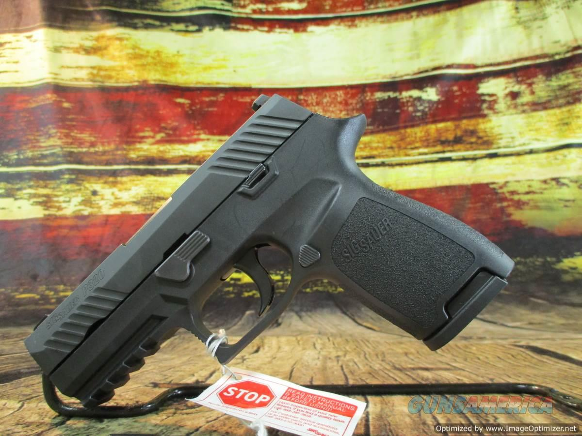 "Sig Sauer 9MM P320CA Carry W/ Night Sights 3.9"" New (320CA-9-BSS)  Guns > Pistols > Sig - Sauer/Sigarms Pistols > P320"
