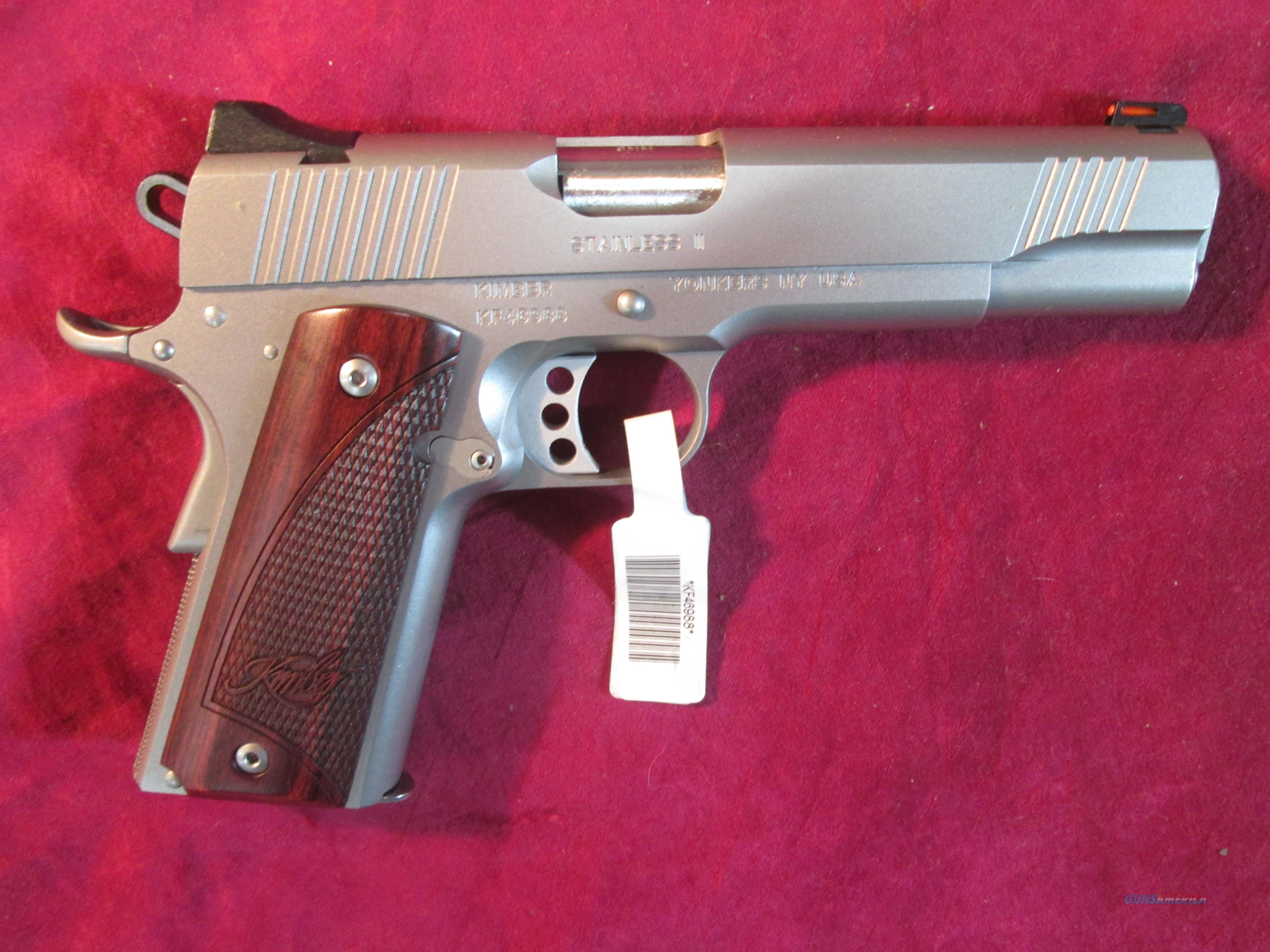 KIMBER CUSTOM STAINLESS II 9MM 2017 (3200327)  Guns > Pistols > Kimber of America Pistols
