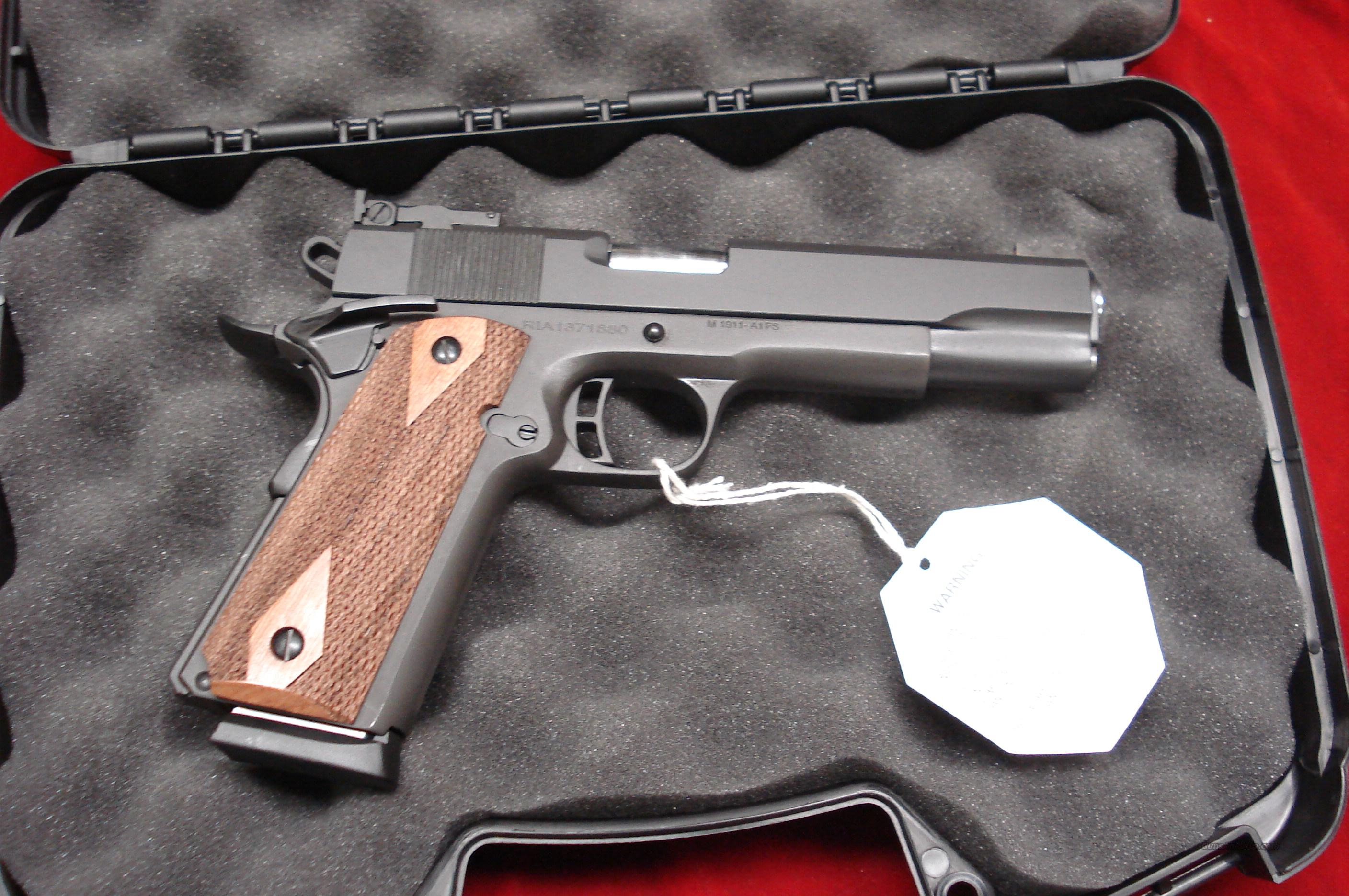 ROCK ISLAND ARMORY 1911-A1 FS MATCH WITH TARGET SIGHTS  NEW  Guns > Pistols > 1911 Pistol Copies (non-Colt)
