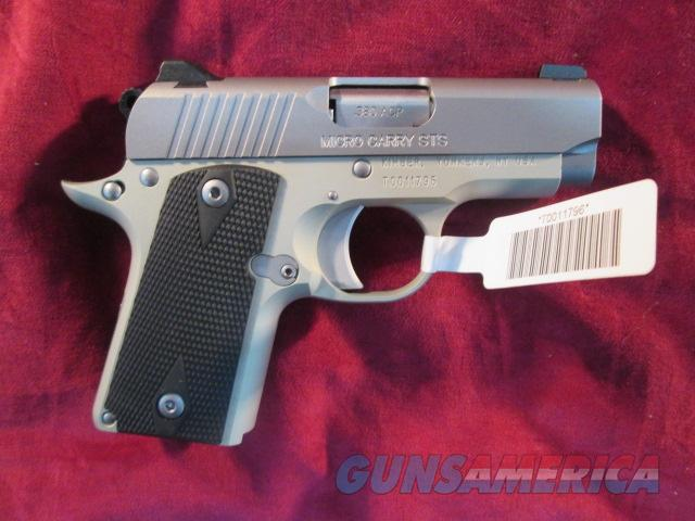 KIMBER MICRO CARRY STAINLESS 380 CAL NEW  Guns > Pistols > Kimber of America Pistols